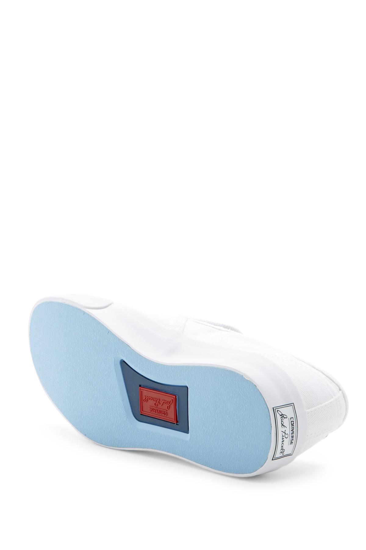 ba14759a6b5102 Lyst - Converse Jack Purcell Ii Slip-on Sneaker (unisex) in White