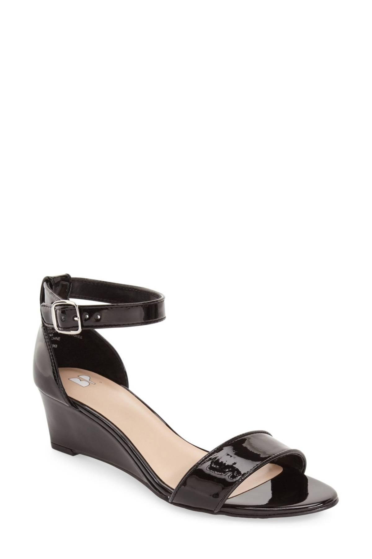 99f458538e5 Lyst - BP.  roxie  Wedge Sandal (women) in Black - Save ...