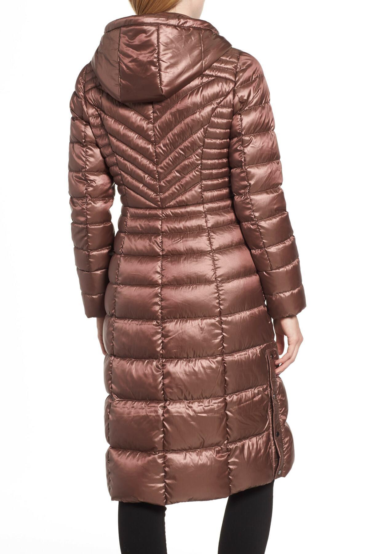 b05961e598a Lyst - Bernardo Lust Long Puffer Coat - Save 46%