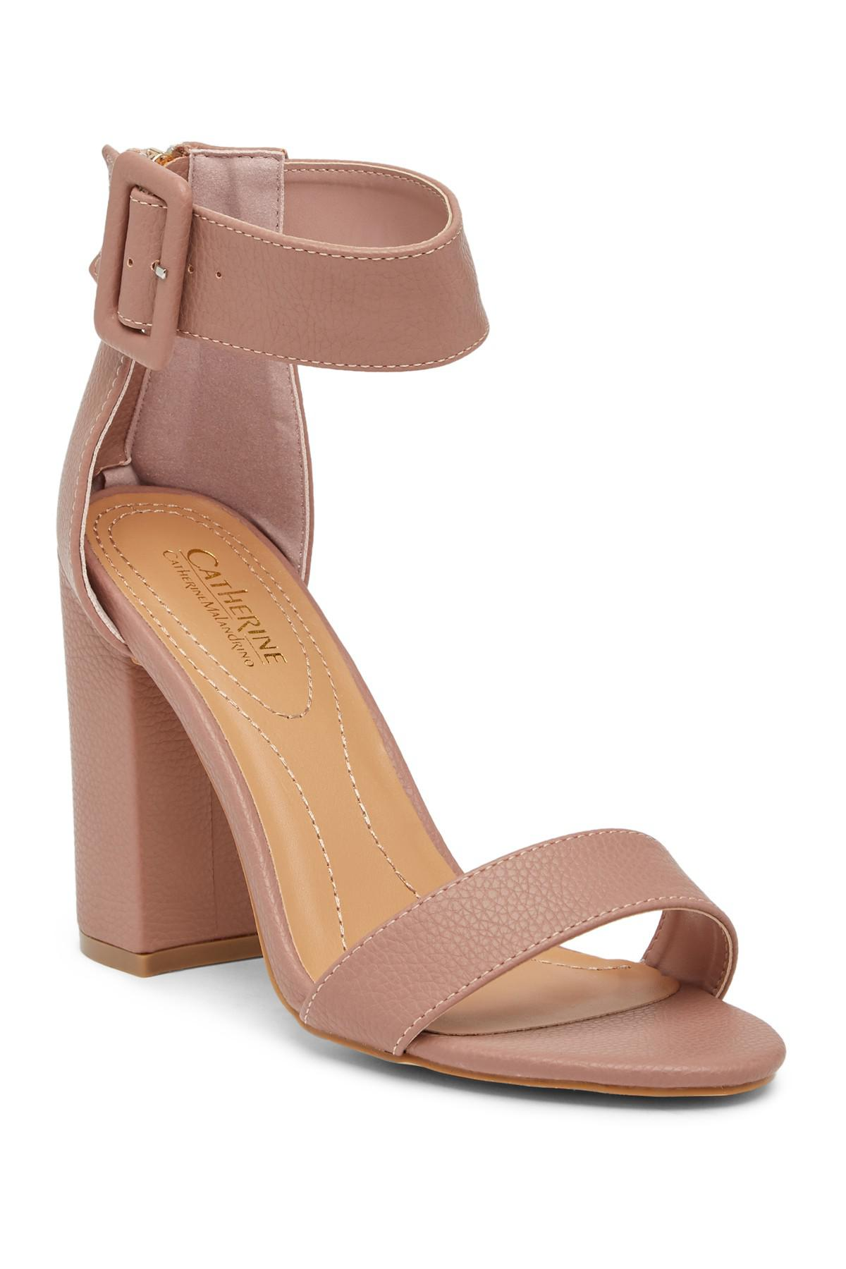 ba3f6c59f20 Lyst - Catherine Malandrino Seaker Open Toe Heeled Sandal