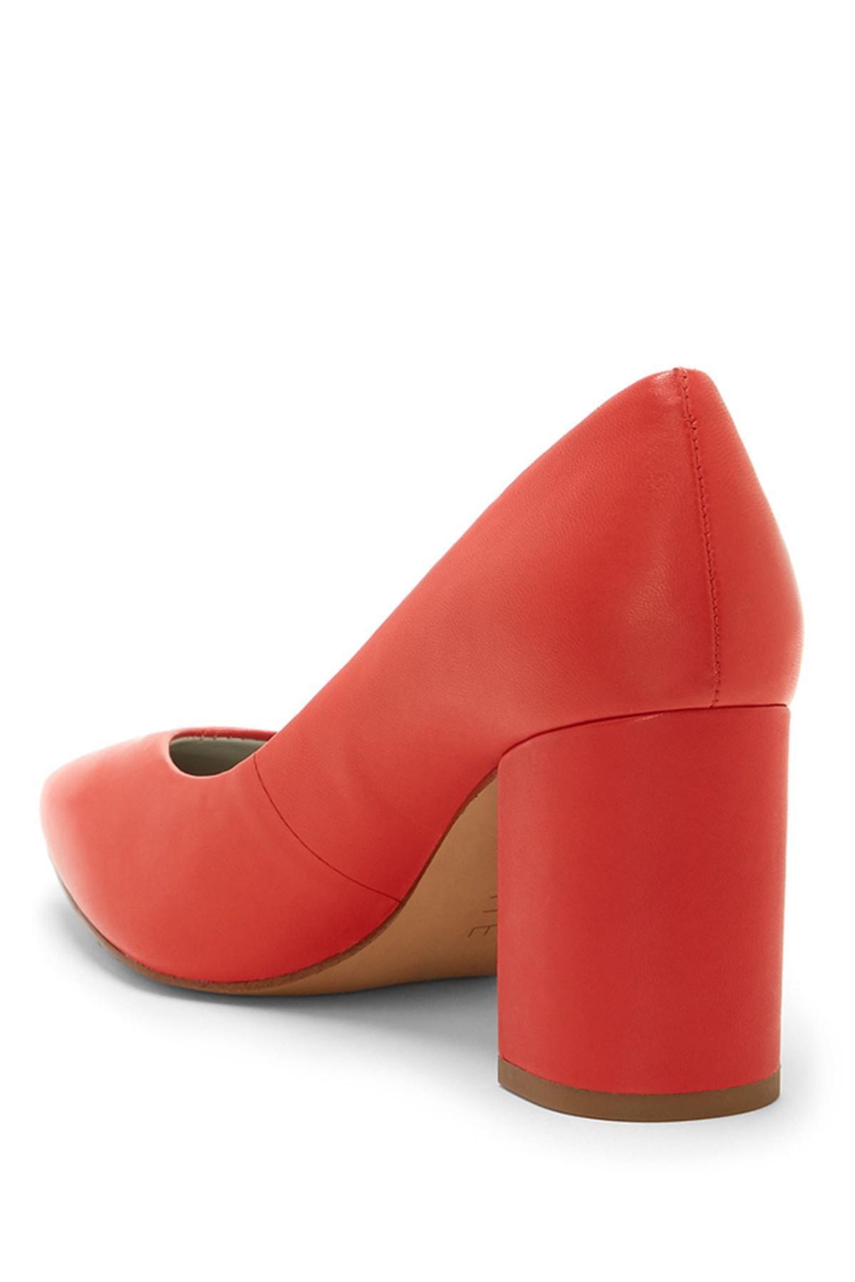 7f13c8f2b19 1.STATE - Red Saffy Block Heel Pump (women) - Lyst. View fullscreen