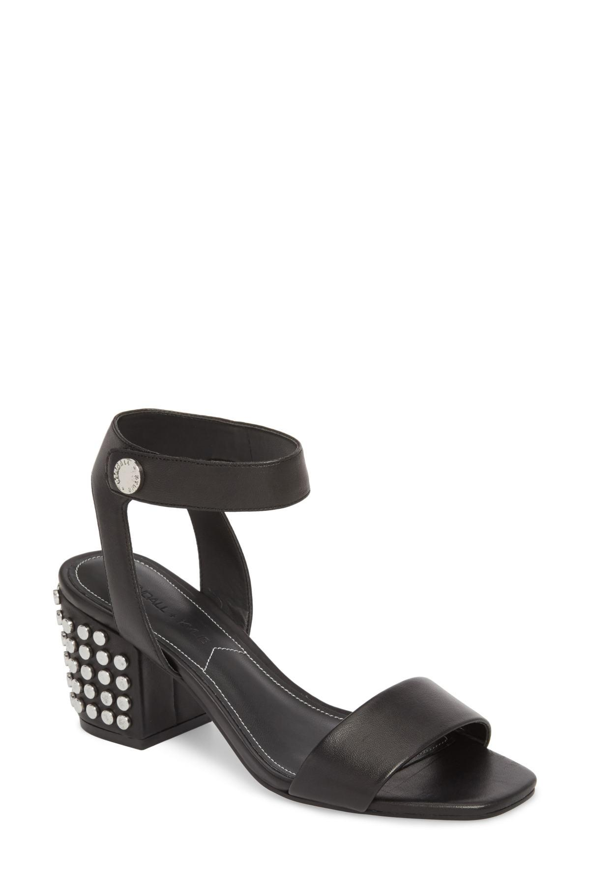 d2c0b7f91f03 Lyst - Kendall + Kylie Sophie Heeled Sandal in Black - Save 60.8%