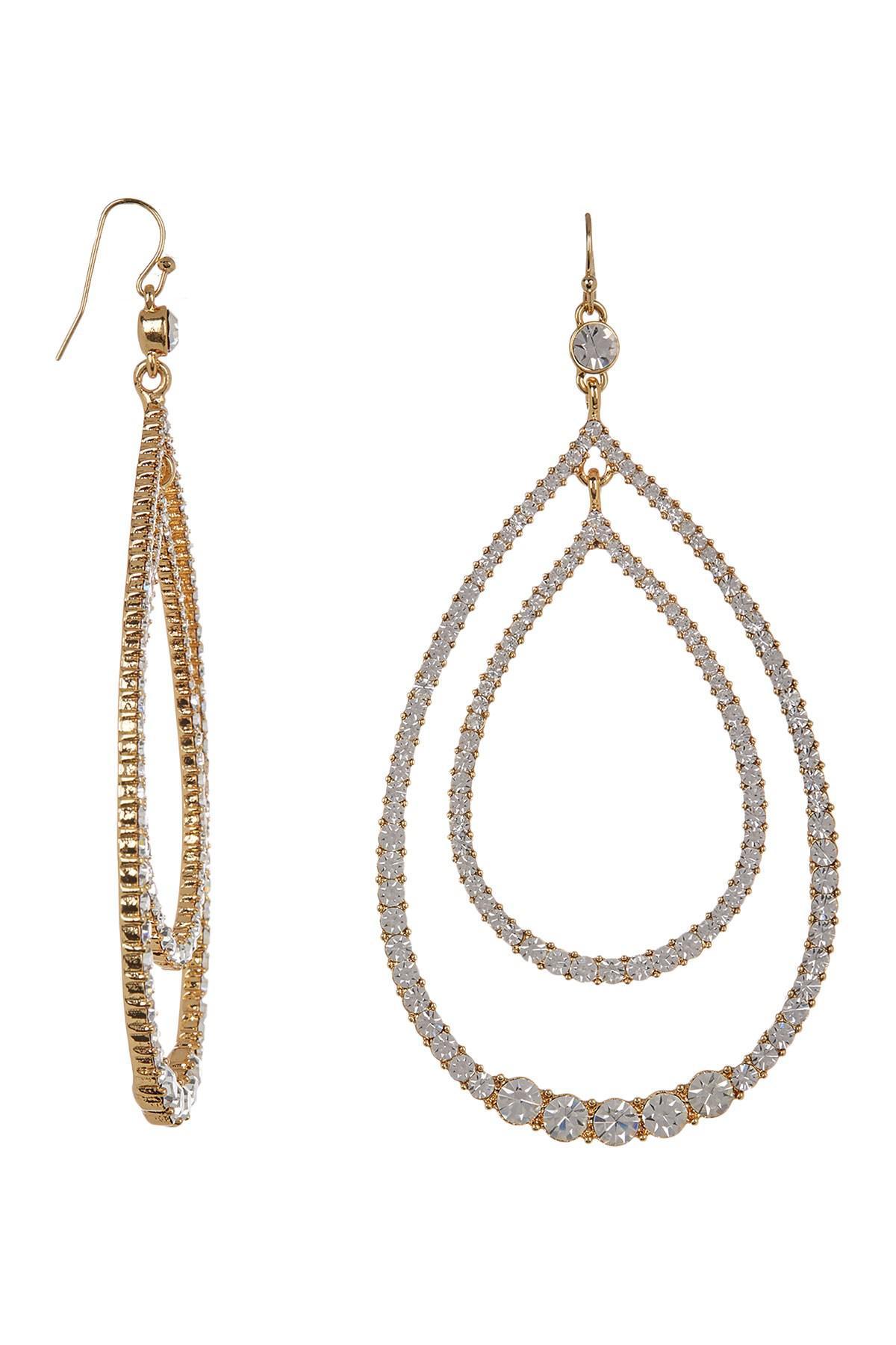Trina Turk Double Teardrop Earrings idv5wwupr