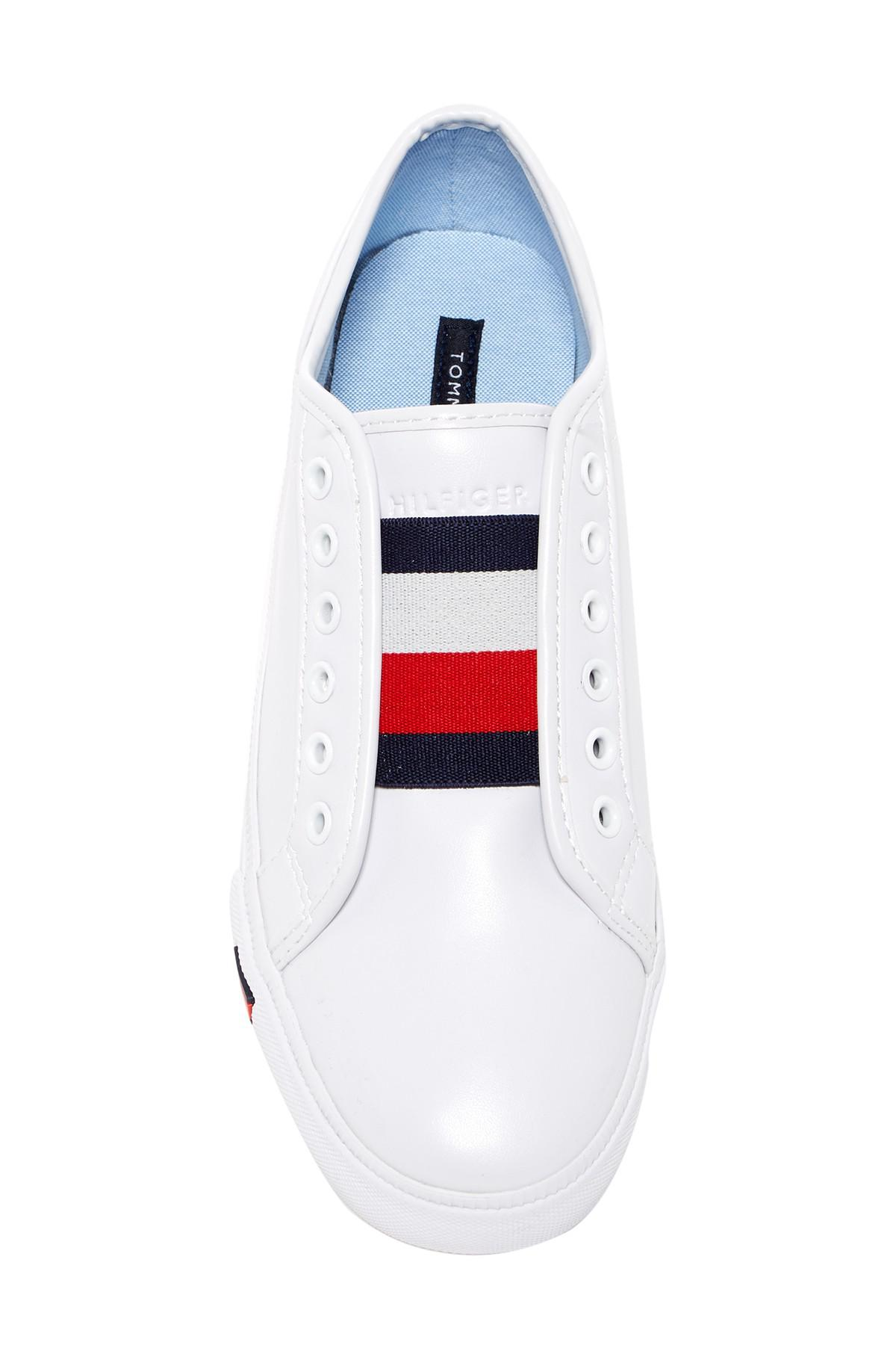 8048b7a1d77d6 Lyst - Tommy Hilfiger Anni Sneaker in White