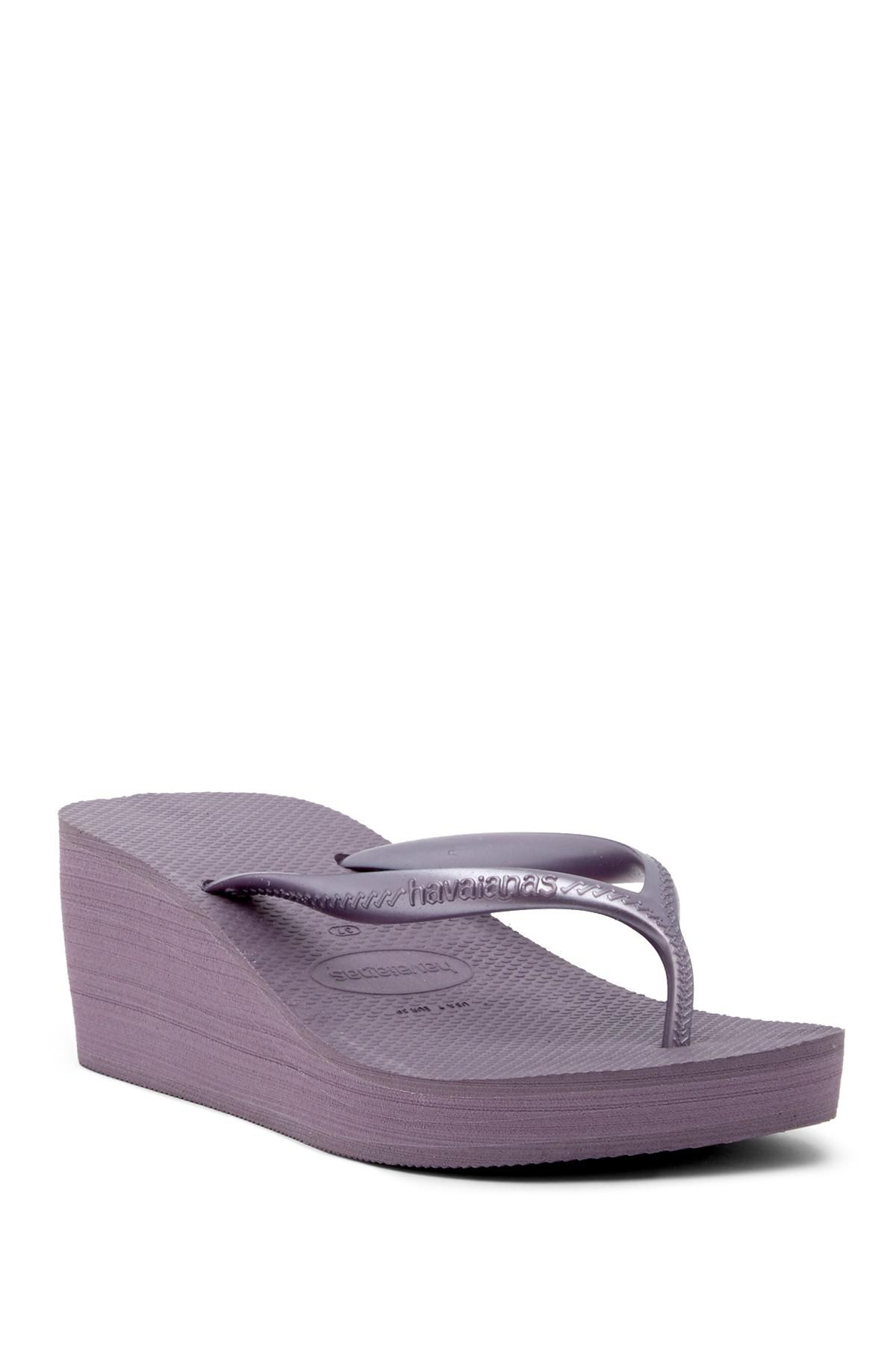 3a1b2a34925 Lyst - Havaianas High Fashion Platform Wedge Flip Flop Sandal (women ...