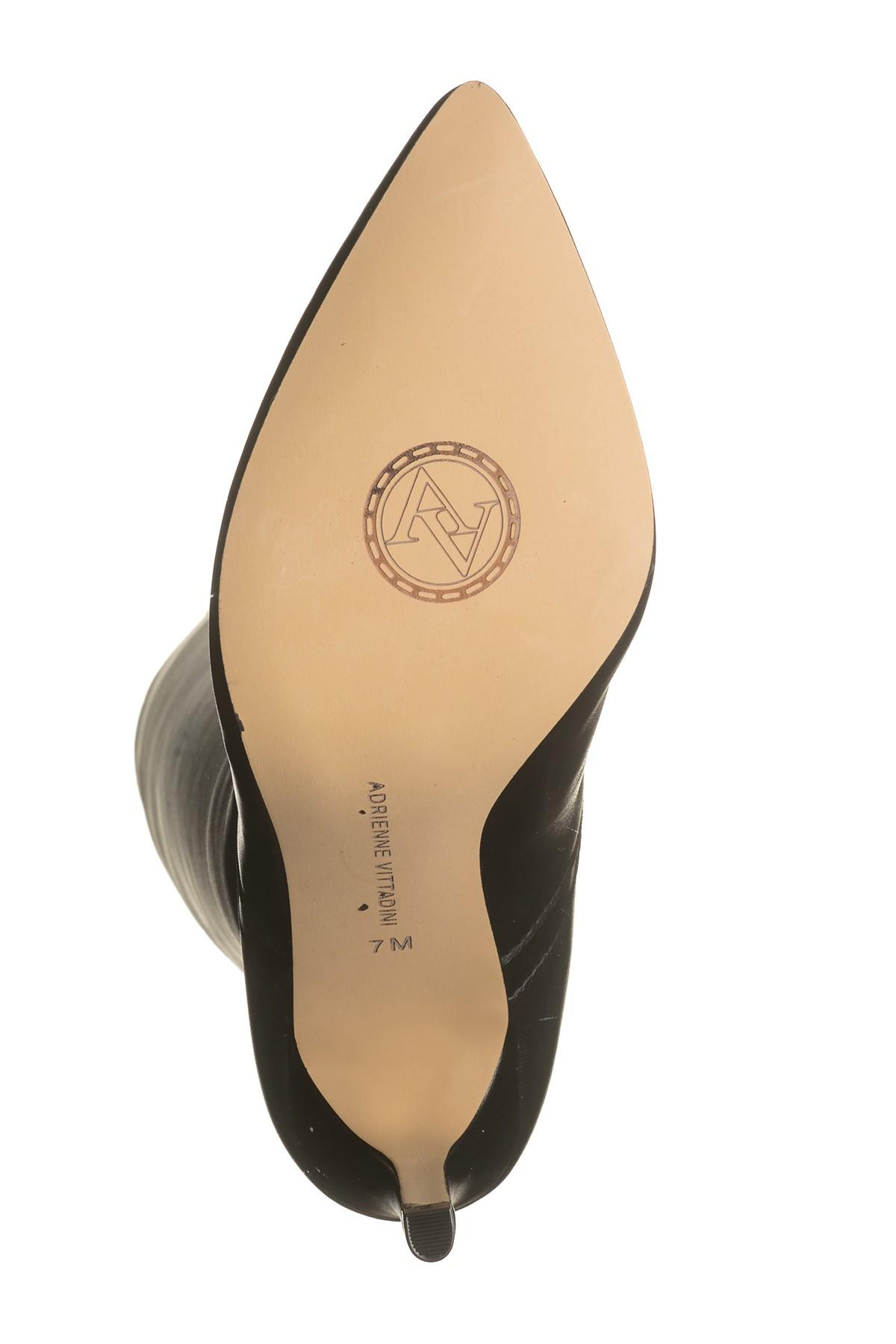 a588f4703d8 Adrienne Vittadini - Black Nalani Leather Knee-high Boot - Lyst. View  fullscreen