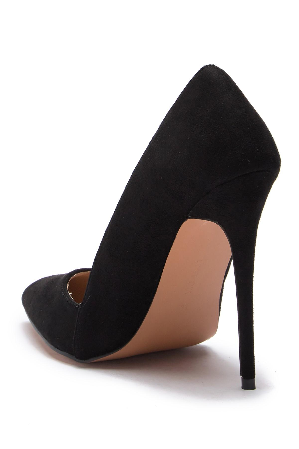 bf3545cf4e6d Lost Ink - Black Alexa Low Cut Pump - Wide Width - Lyst. View fullscreen
