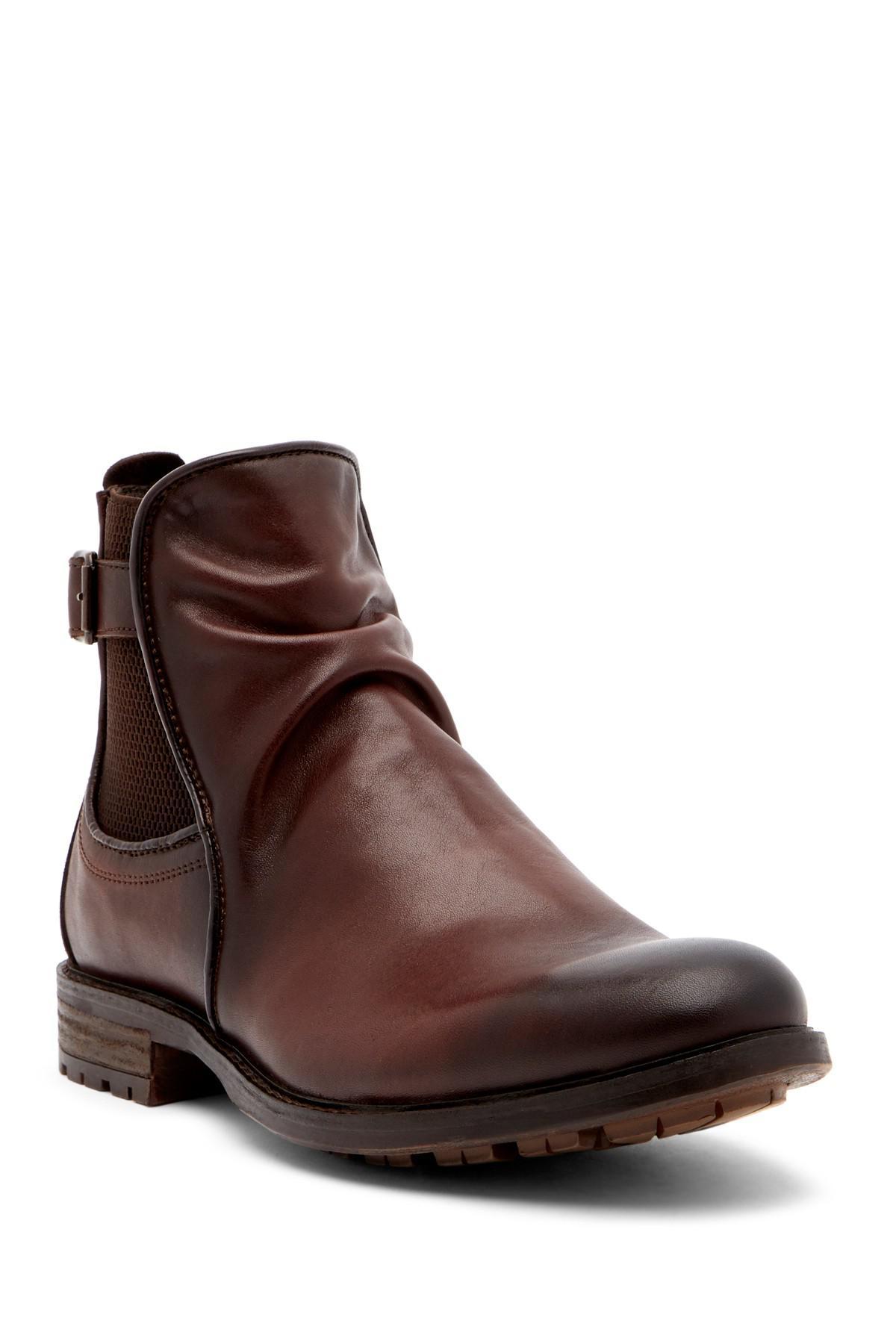 72944d6d7ba Lyst - Steve Madden Loren Leather Boot in Brown for Men