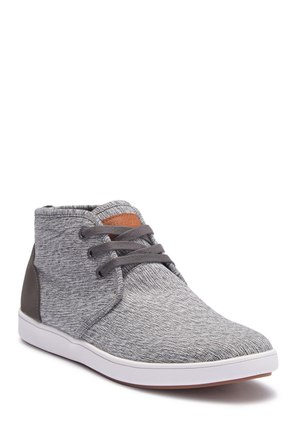 4b5638f098b Lyst - Steve Madden Chuka Sneaker Boot in Gray for Men