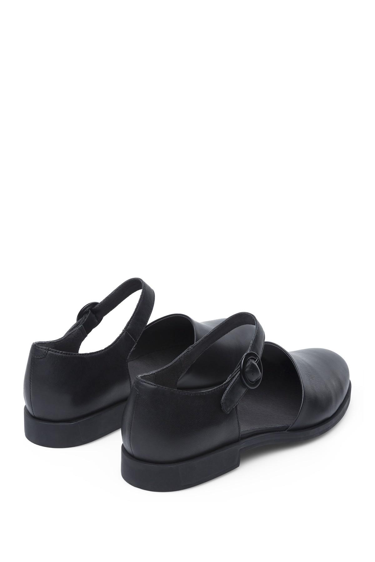 903d8b7debb Camper - Black Bowie Ankle Strap Loafer - Lyst. View fullscreen