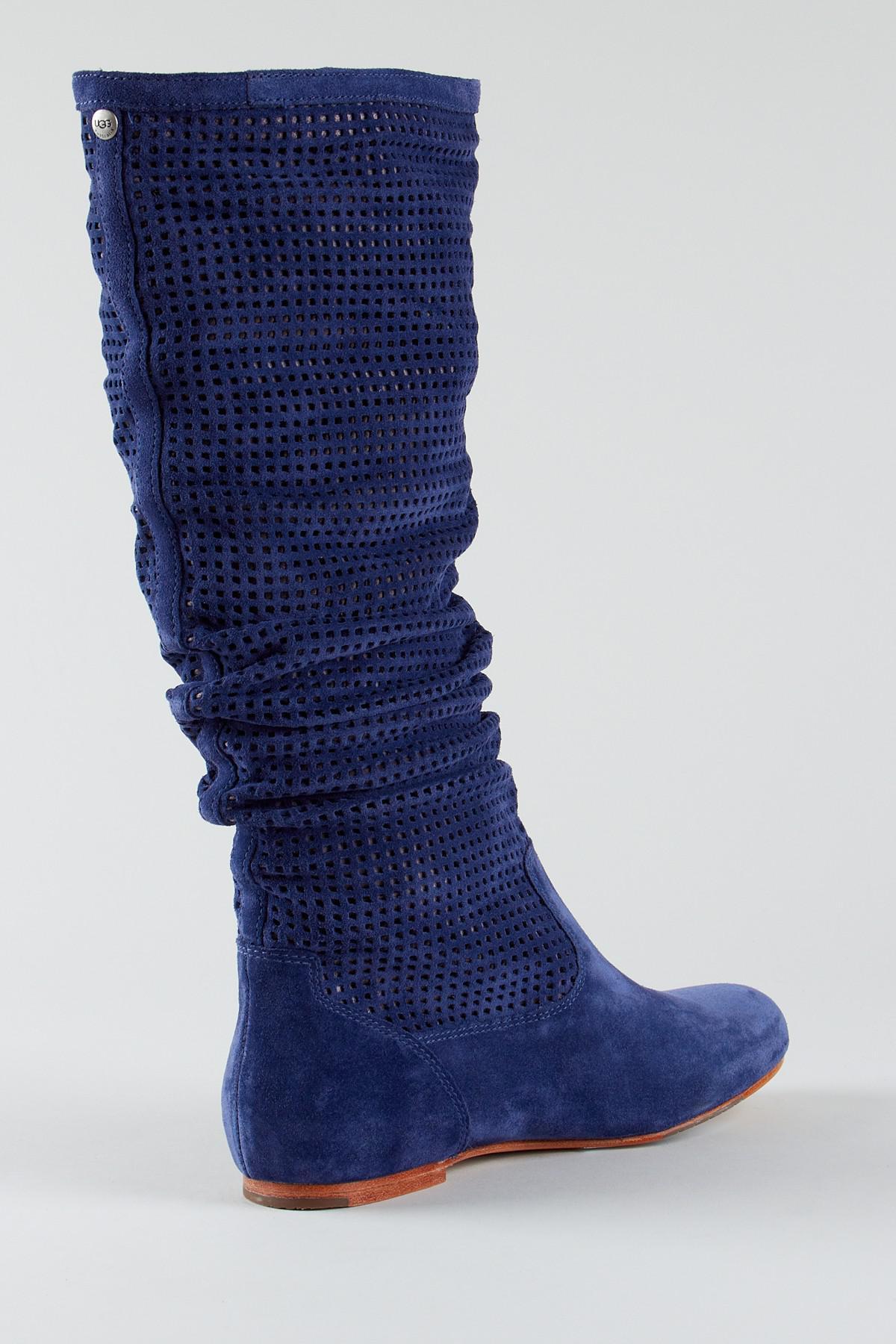 6ce9cc9d9ae Ugg - Blue Abilene Boot - Lyst