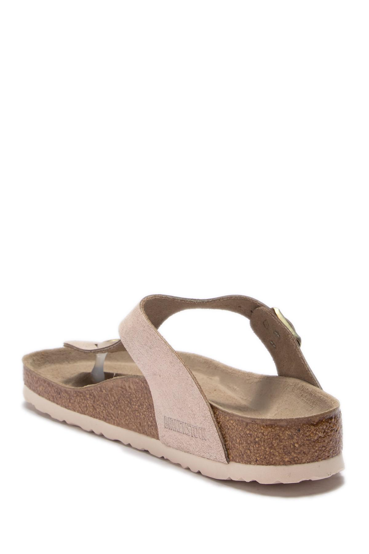 6a023a7c6233 Lyst - Birkenstock Gizeh Thong Sandal - Discontinued in Pink