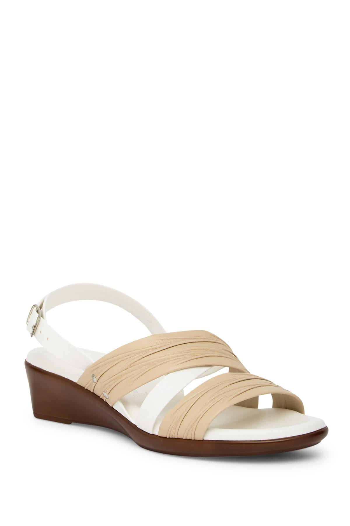 Italian Shoemakers Maxi Wedge Sandal - Wide Width Available f3pucFD