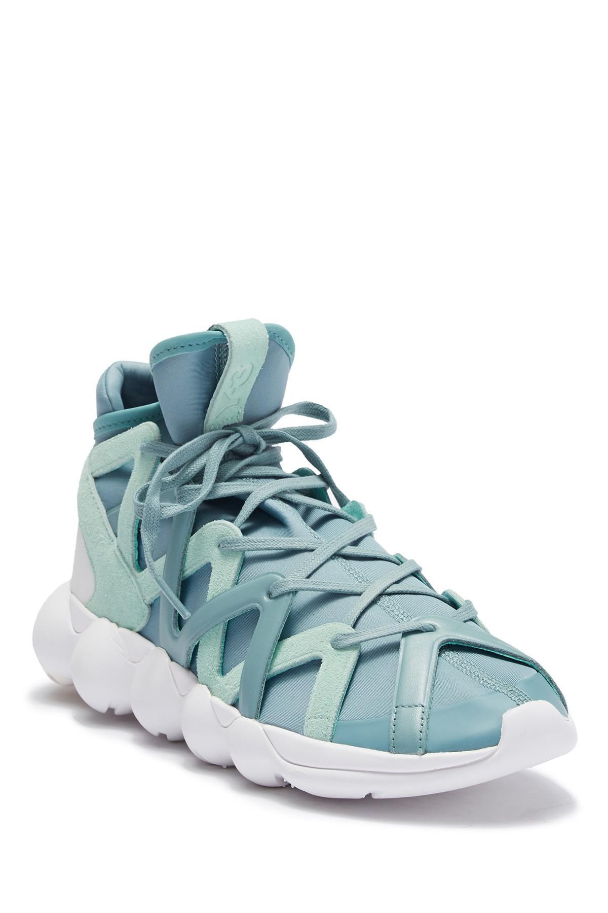 the best attitude dde40 7df61 Lyst - Y-3 Kyujo High Sneaker in Blue for Men