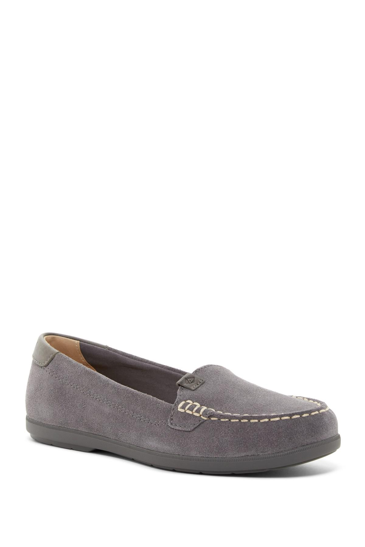 4e967cb18d6 Lyst - Sperry Top-Sider Coil Mia Loafer in Gray