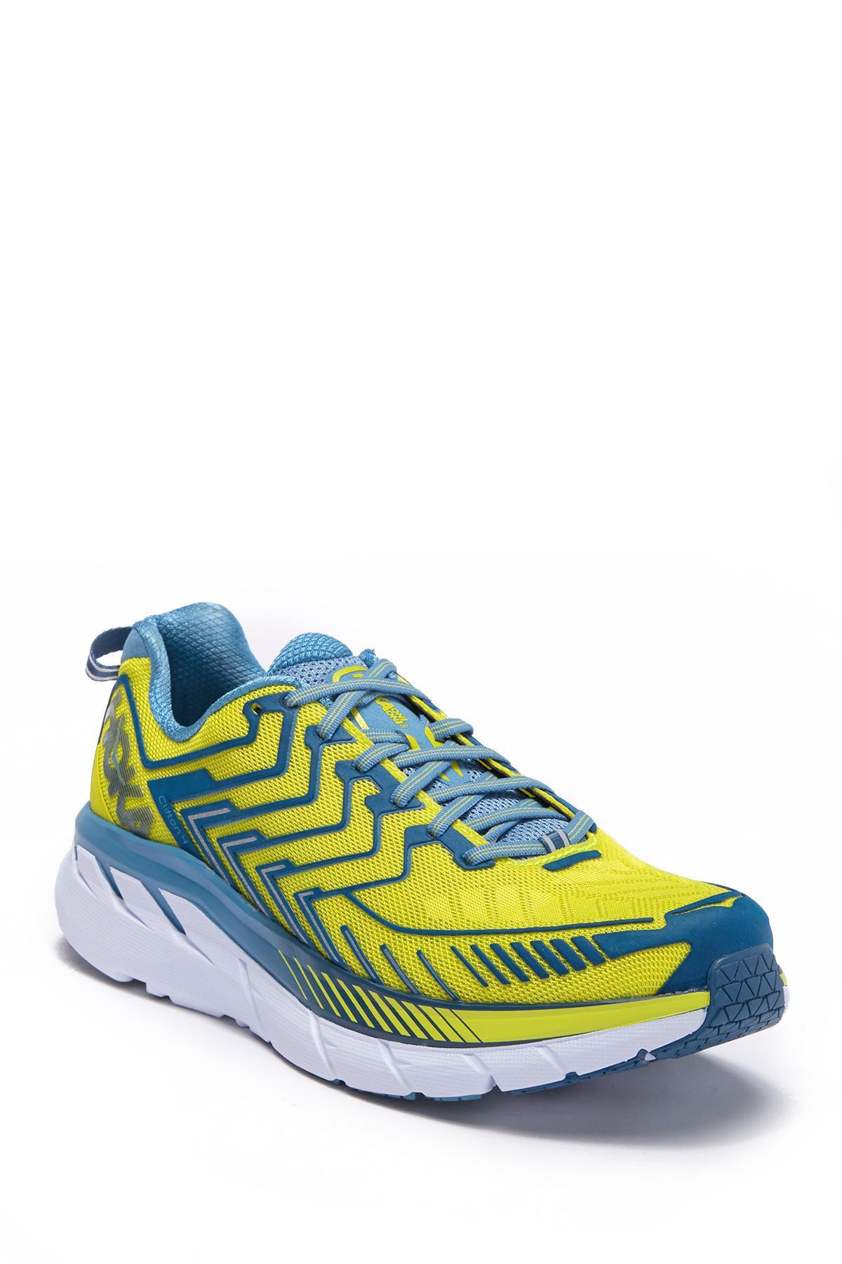 ee2f30ee163 Hoka One One. Men s Blue Clifton 4 Running Sneaker.  130  90 From Nordstrom  Rack