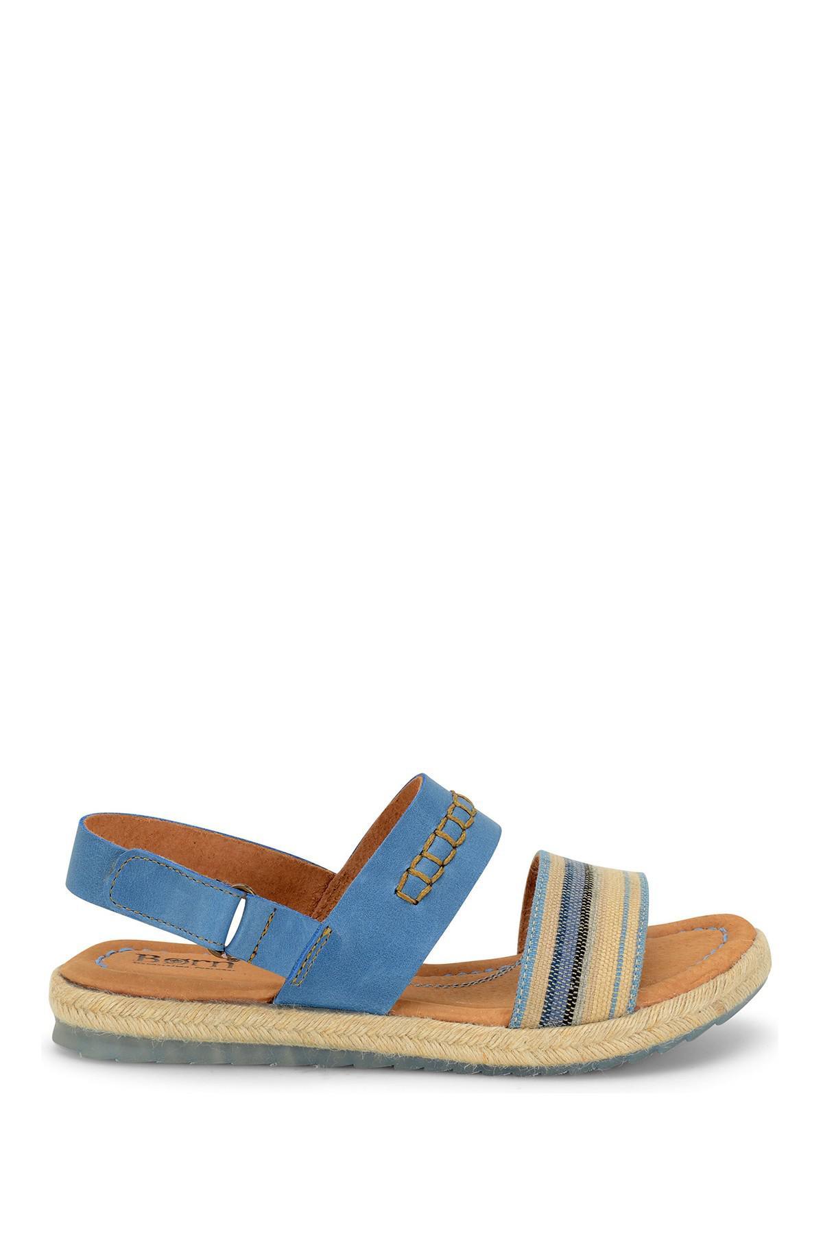 Born Vigan Jute Platform Sandal YZhRA04