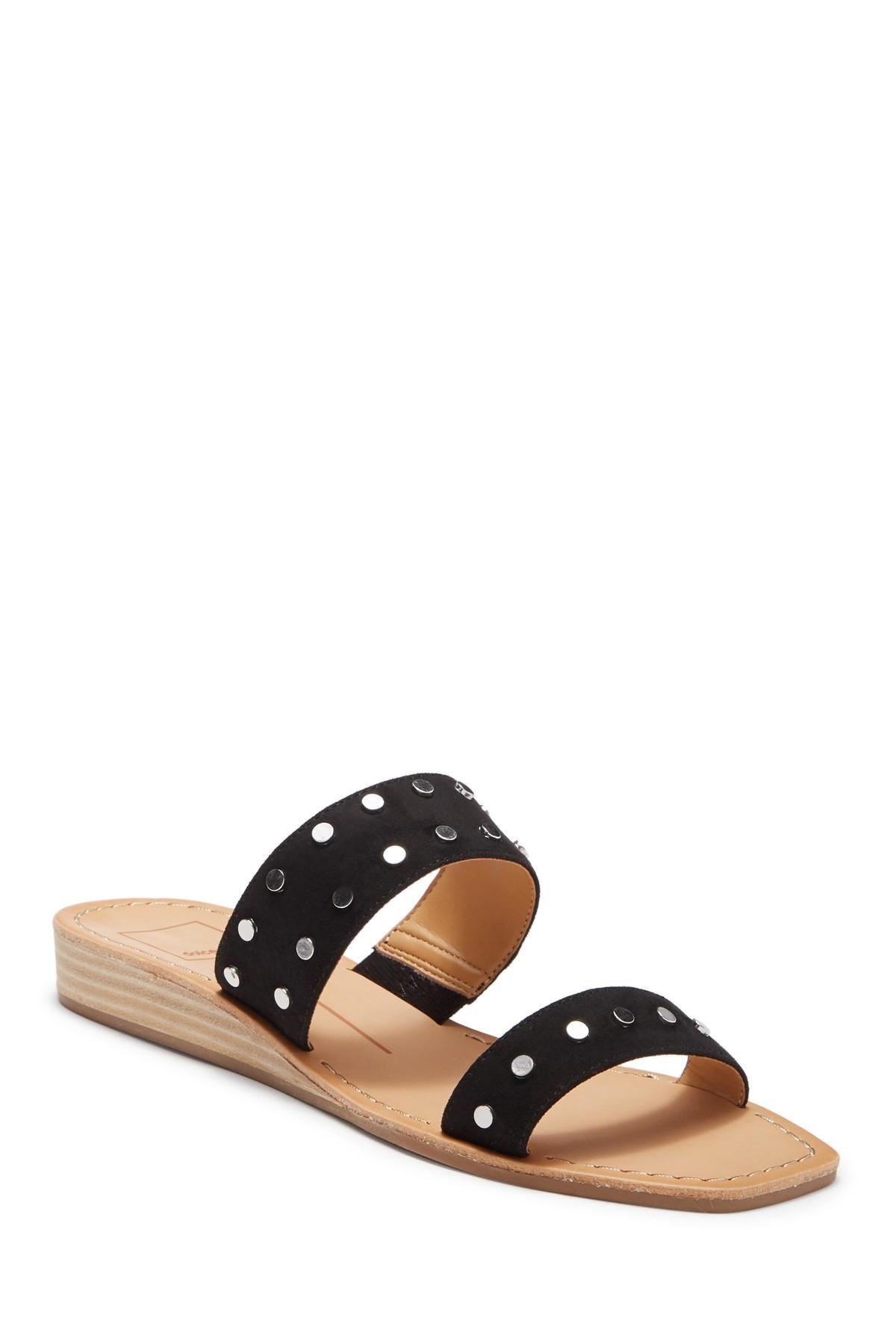6592606e860 Dolce Vita. Women s Black Hikara Stud Wedge Sandal.  110  50 From Nordstrom  Rack