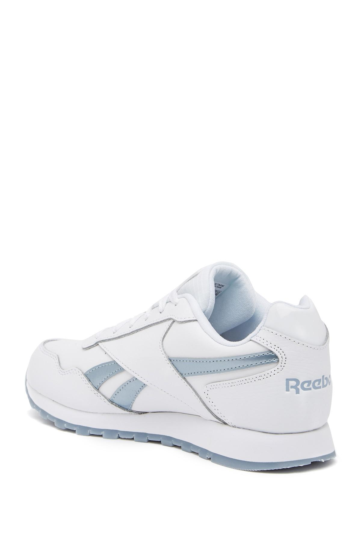 e4265e7392f68 Reebok - White Classic Harman Run Leather Sneaker - Lyst. View fullscreen
