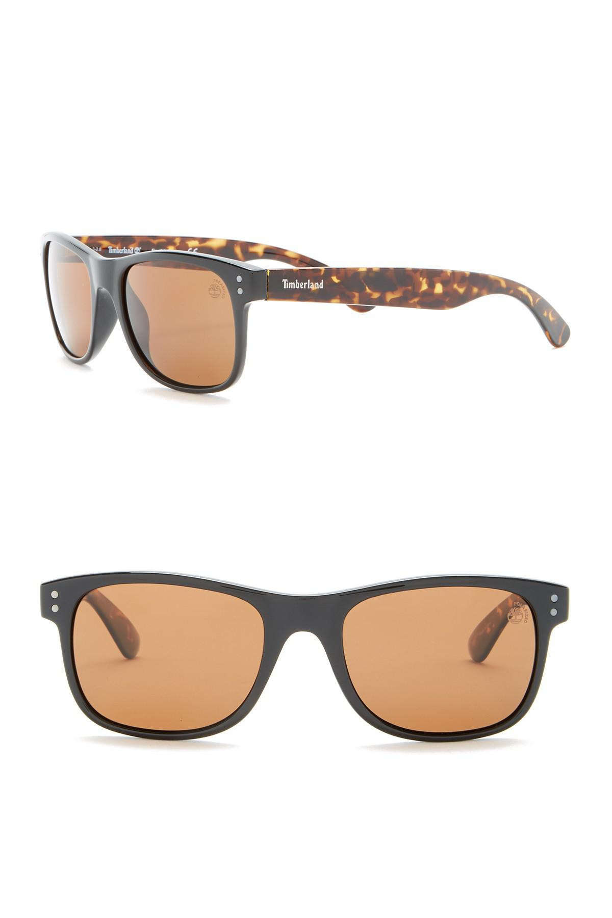 c3c0be6fad057 Timberland - Brown Polarized 53mm Sunglasses for Men - Lyst. View fullscreen