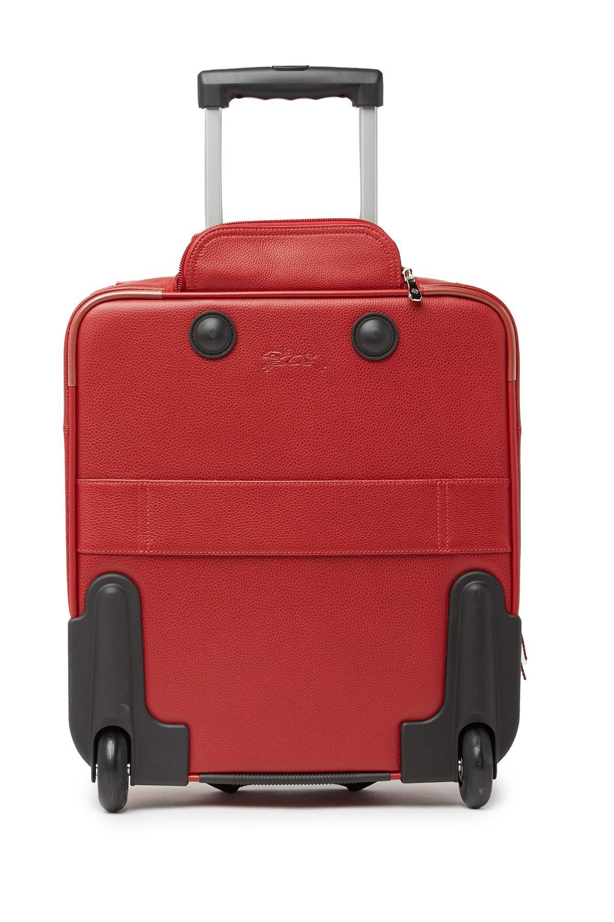 341b5148a Longchamp Vp Board Trolley Duffle Bag in Red - Lyst