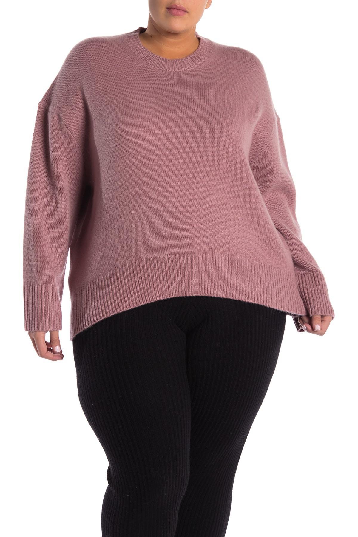 5ea4b9b64c2 Lyst - NAKEDCASHMERE Holliday Cashmere Sweater (plus Size) in Pink