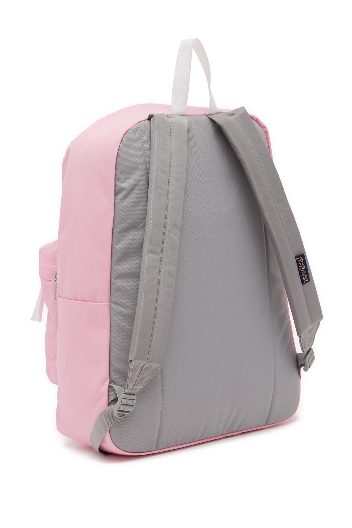 Pastel Pink Jansport Backpack - CEAGESP