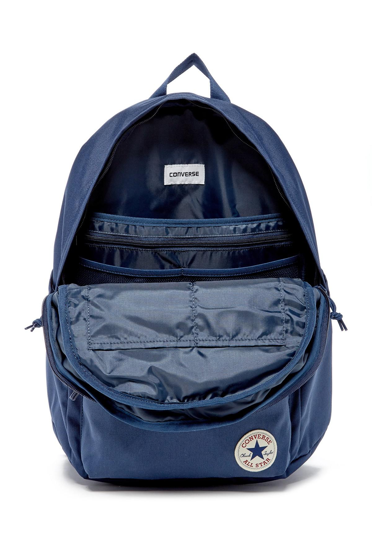 Lyst - Converse Poly Chuck Plus 1.0 Backpack in Blue 7d0cfeeaeb34a
