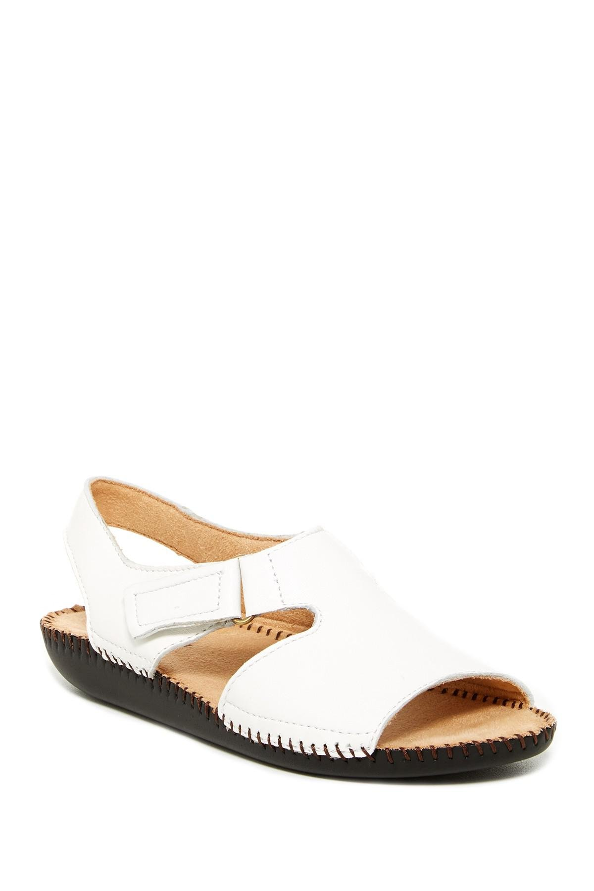 2ff844a0f9d8 Lyst - Naturalizer Scout Sandal in White