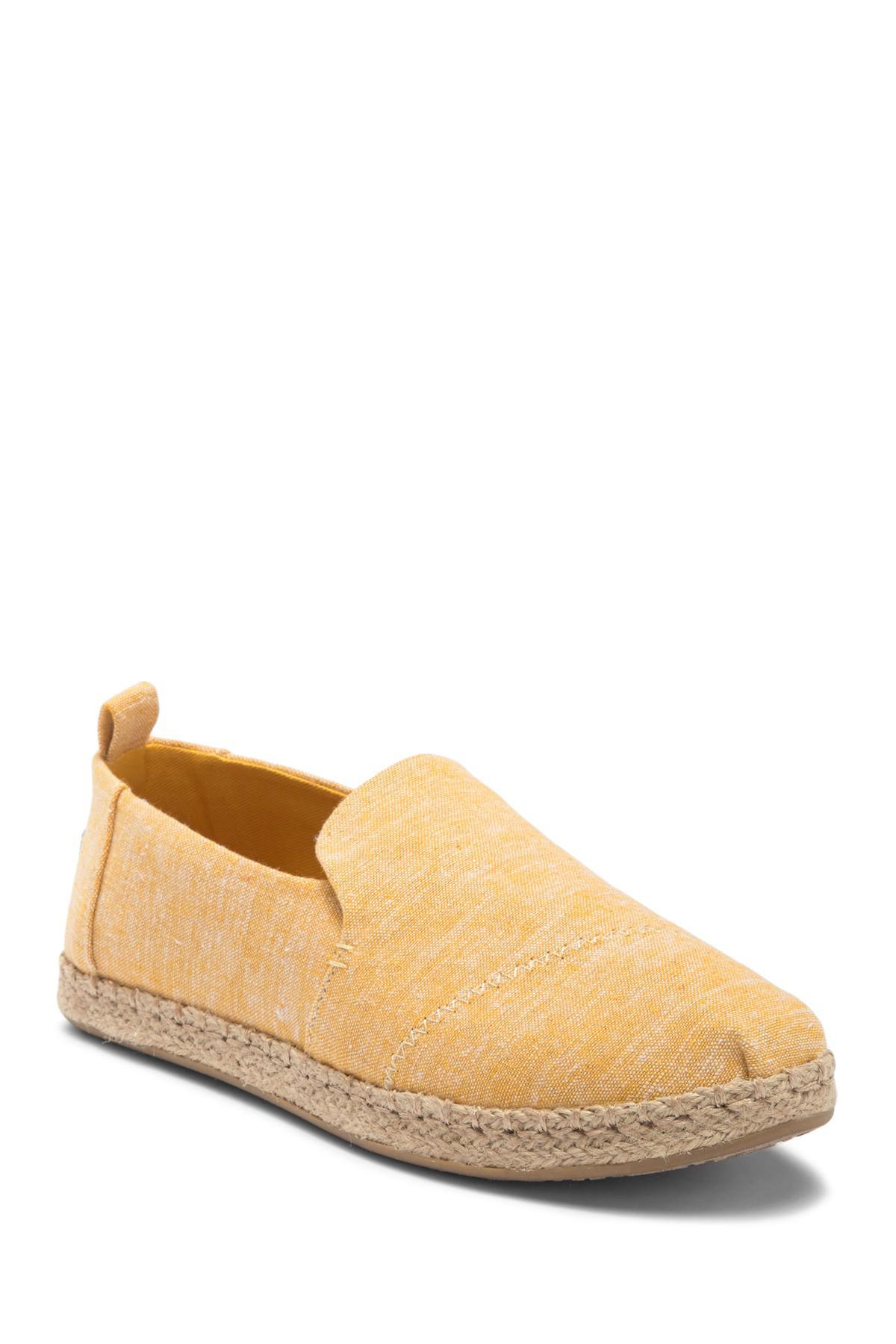 721486b5b73 TOMS. Women s Deconstructed Alpargata Chambray Slip-on Espadrille
