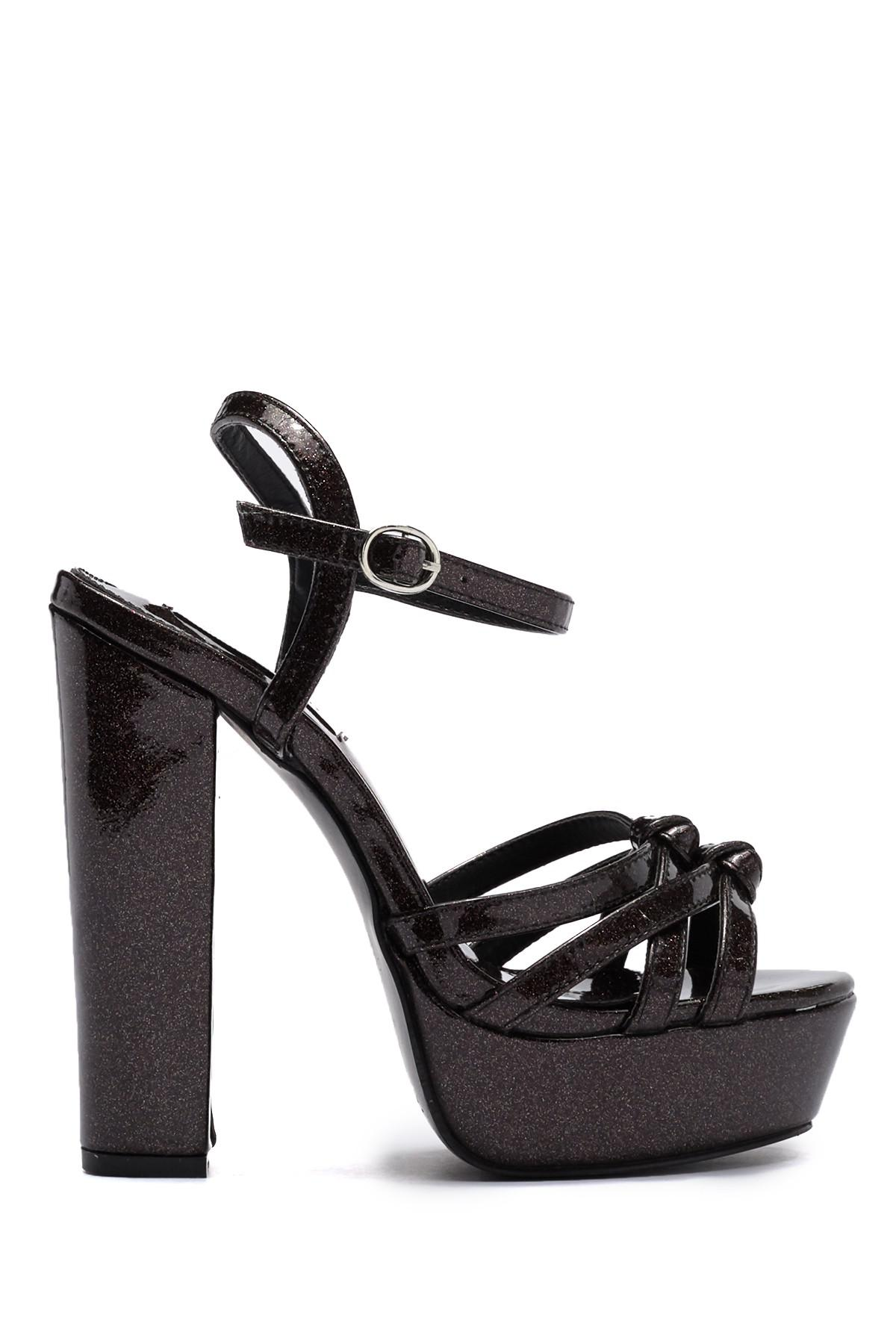 2cf528c3db3a11 Lyst - Cape Robbin Joe Platform Block Heel in Black