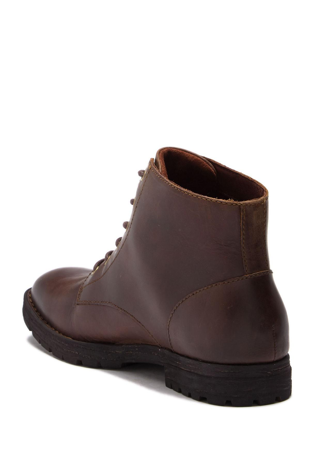 79247d138334 Born - Brown Hollis Plain Toe Leather Boot for Men - Lyst. View fullscreen