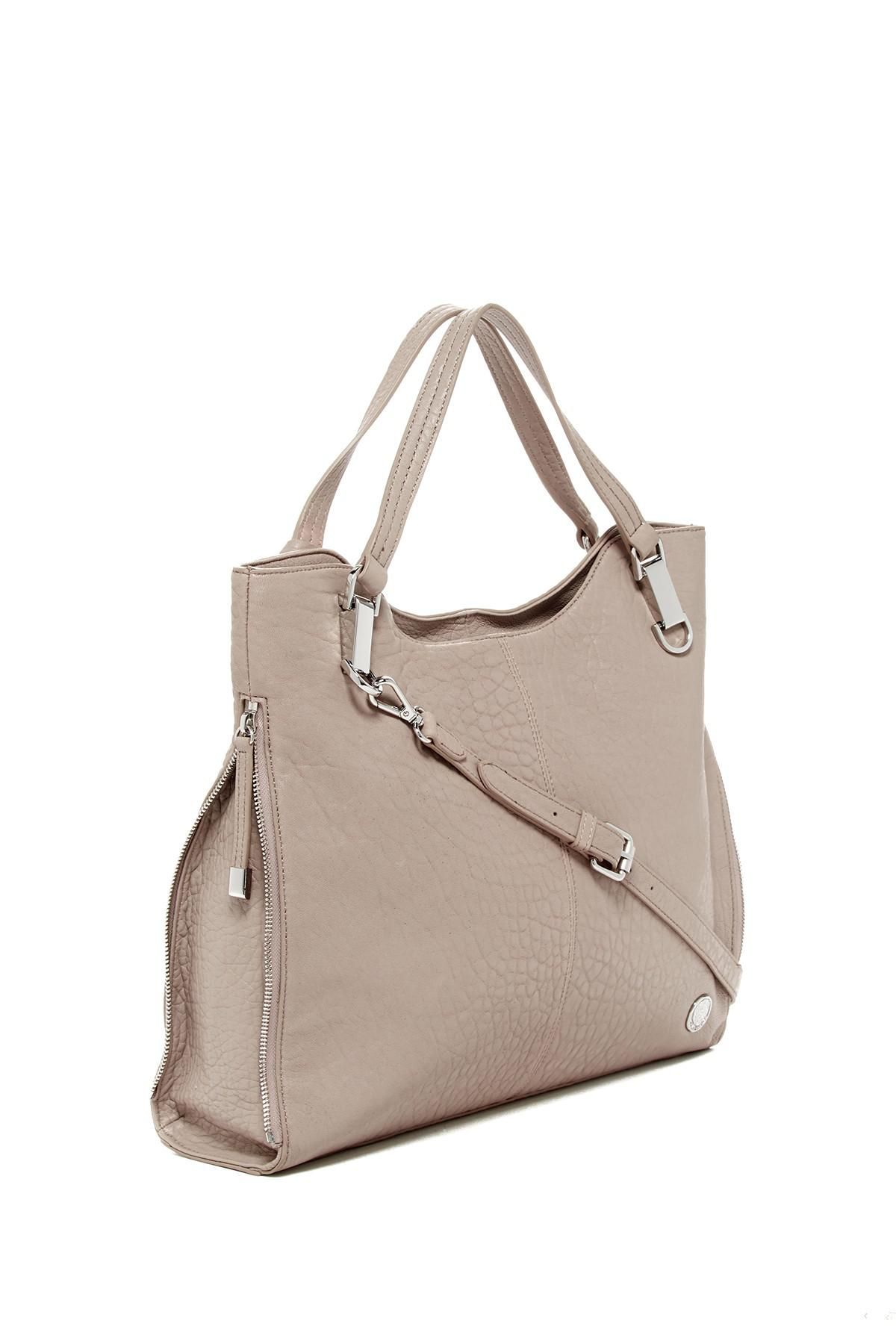 Vince Camuto Riley Leather Tote Bag Lyst