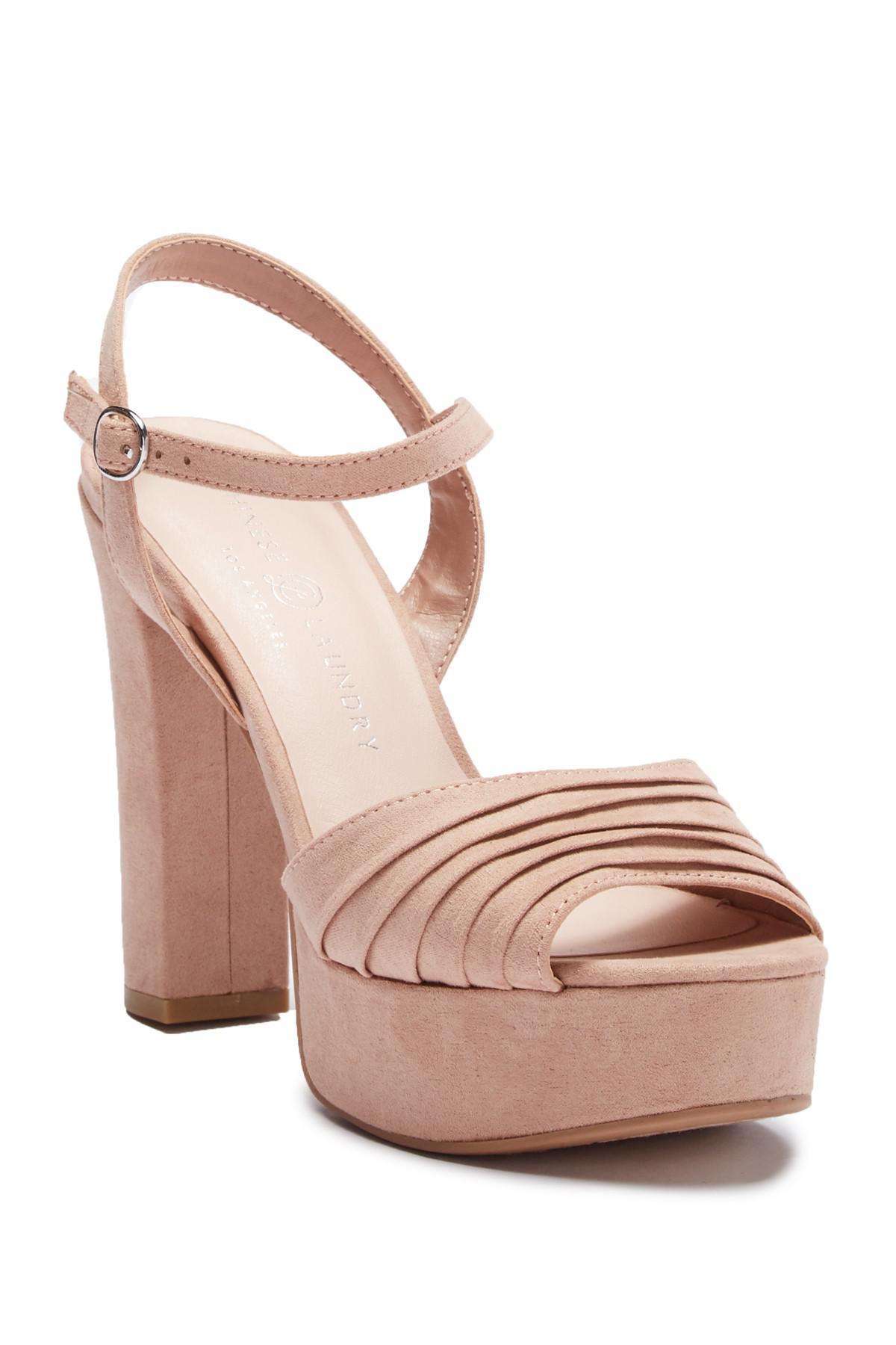 9d2e273139b6 Chinese Laundry. Women s Allie Pleated Platform Sandal