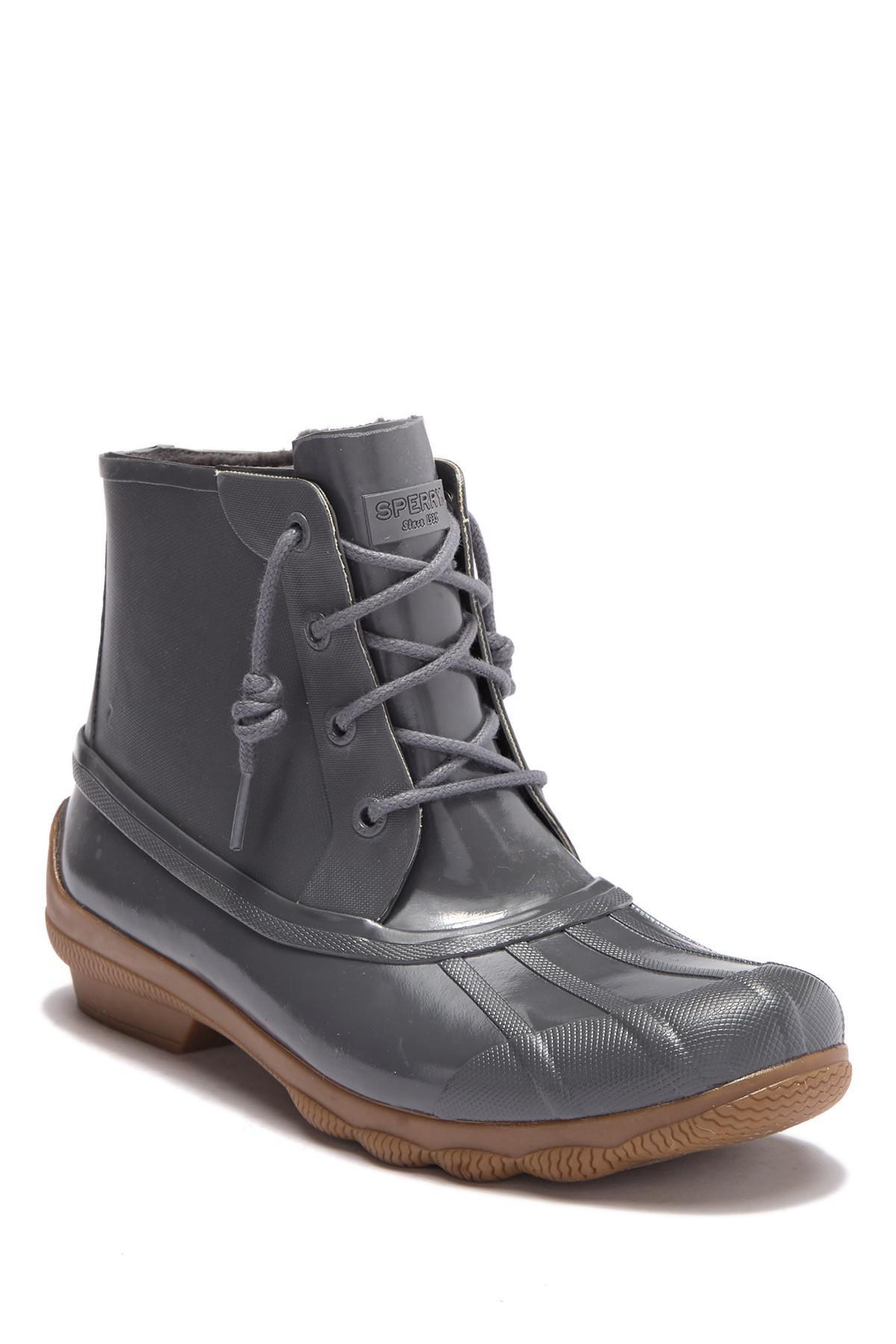 348466b6f930 Lyst - Sperry Top-Sider Syren Gulf Waterproof Duck Boot in Gray