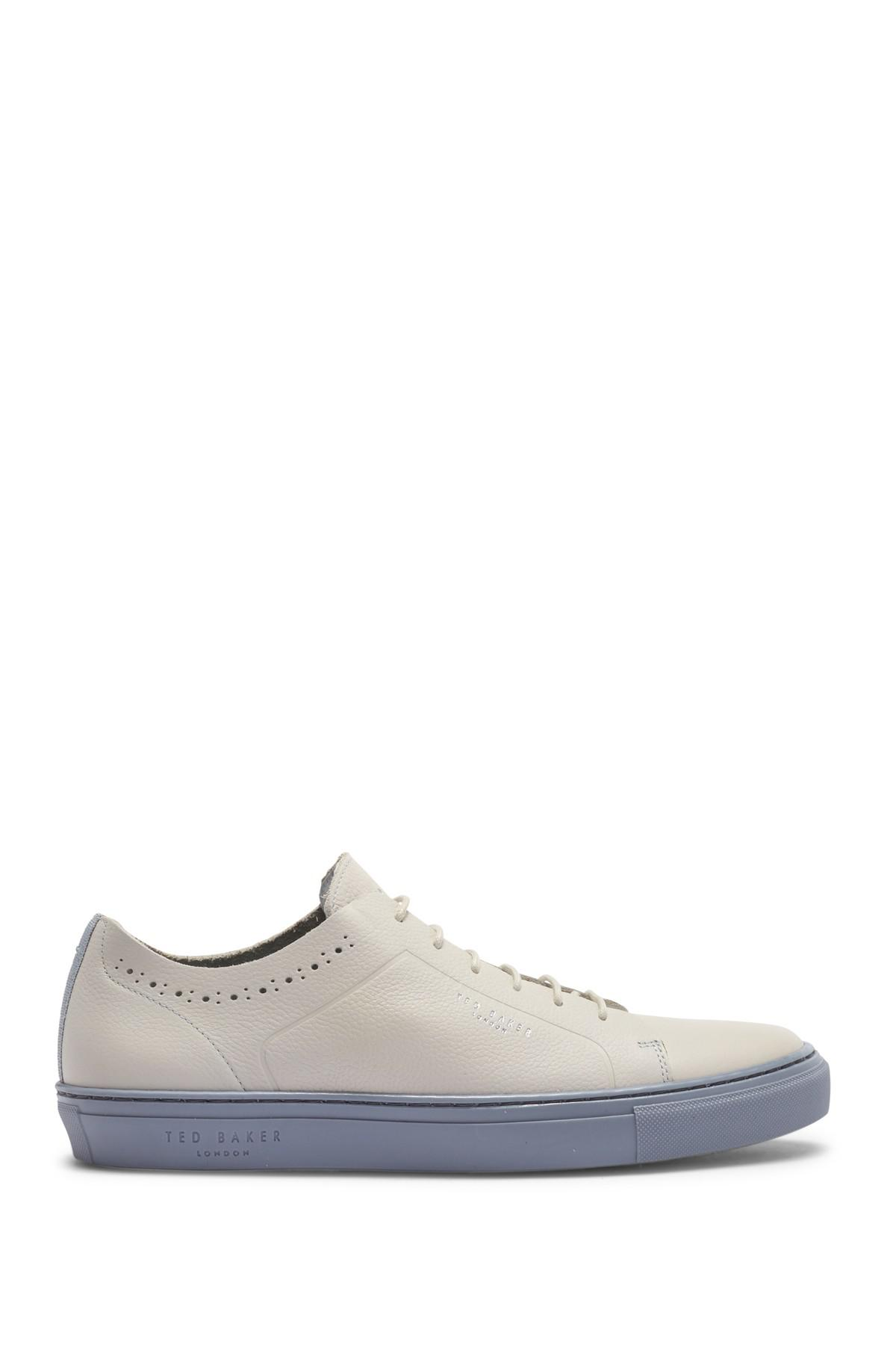 68752423 ... Ted Baker - White Uurll Leather Sneaker for Men - Lyst · Visit  Nordstrom Rack. Tap to visit site