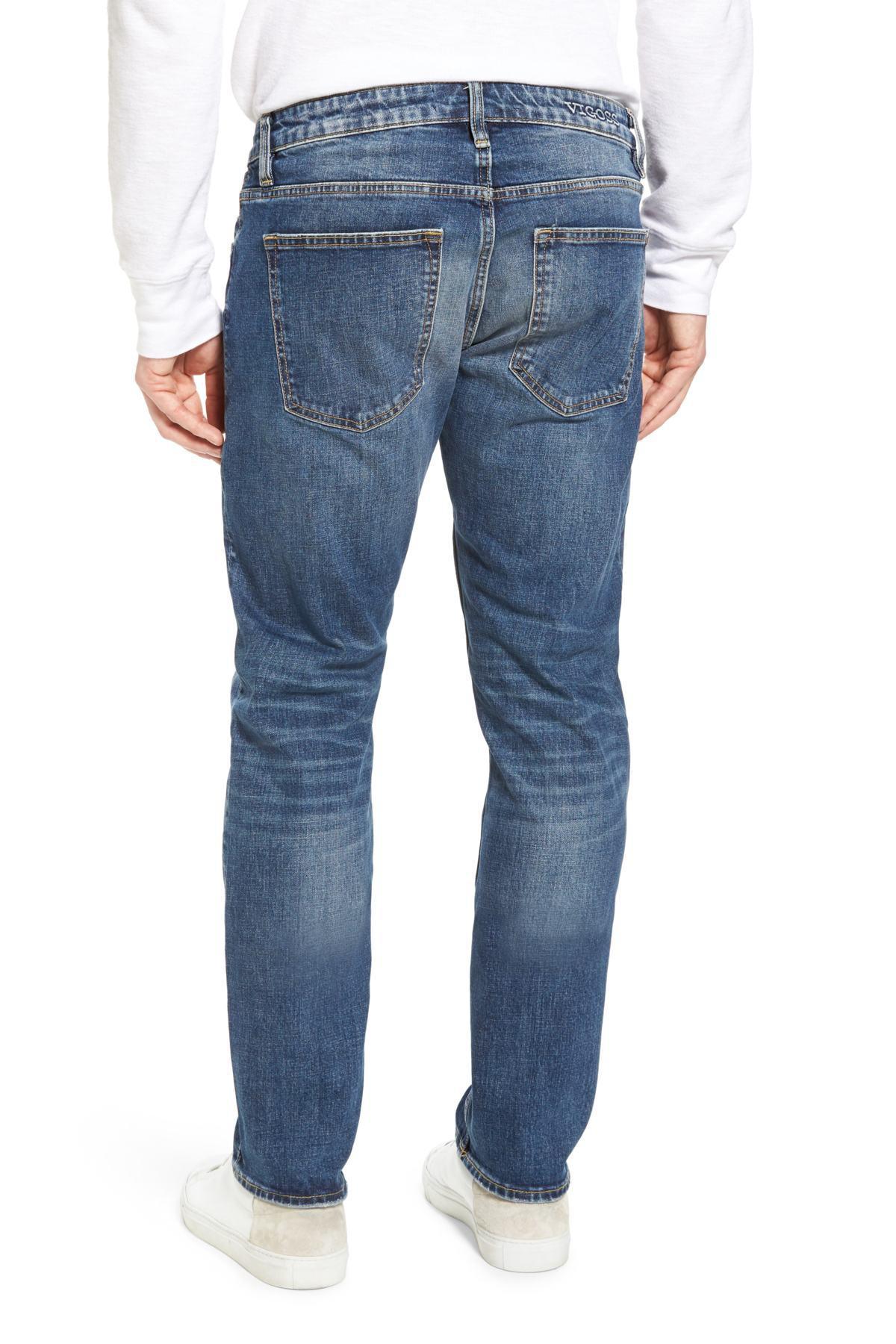 178d43f3ae0 Vigoss - Blue Slim Straight Leg Jeans for Men - Lyst. View fullscreen