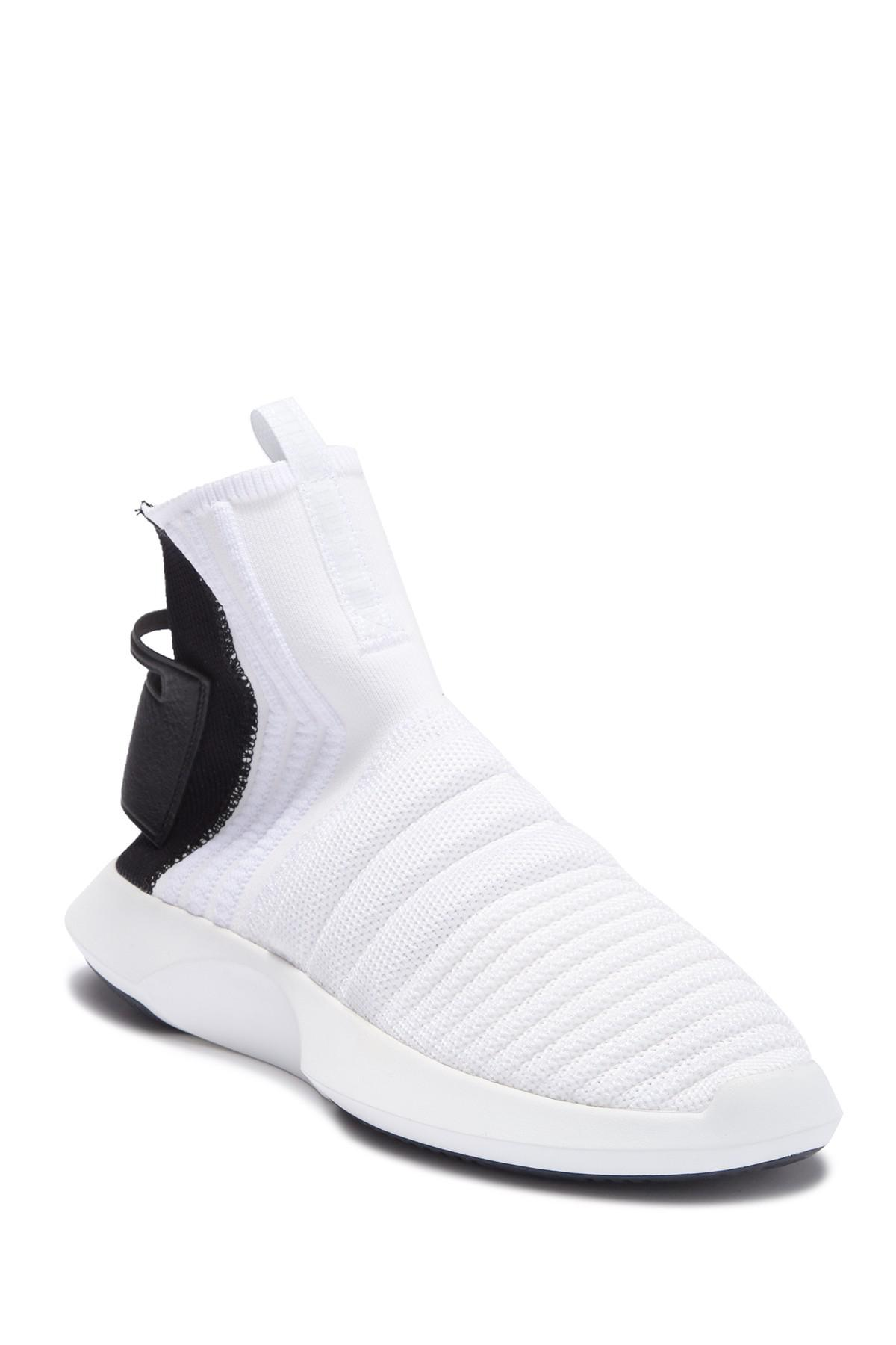 competitive price bbd95 77794 adidas. Mens White Crazy 1 Adv ...