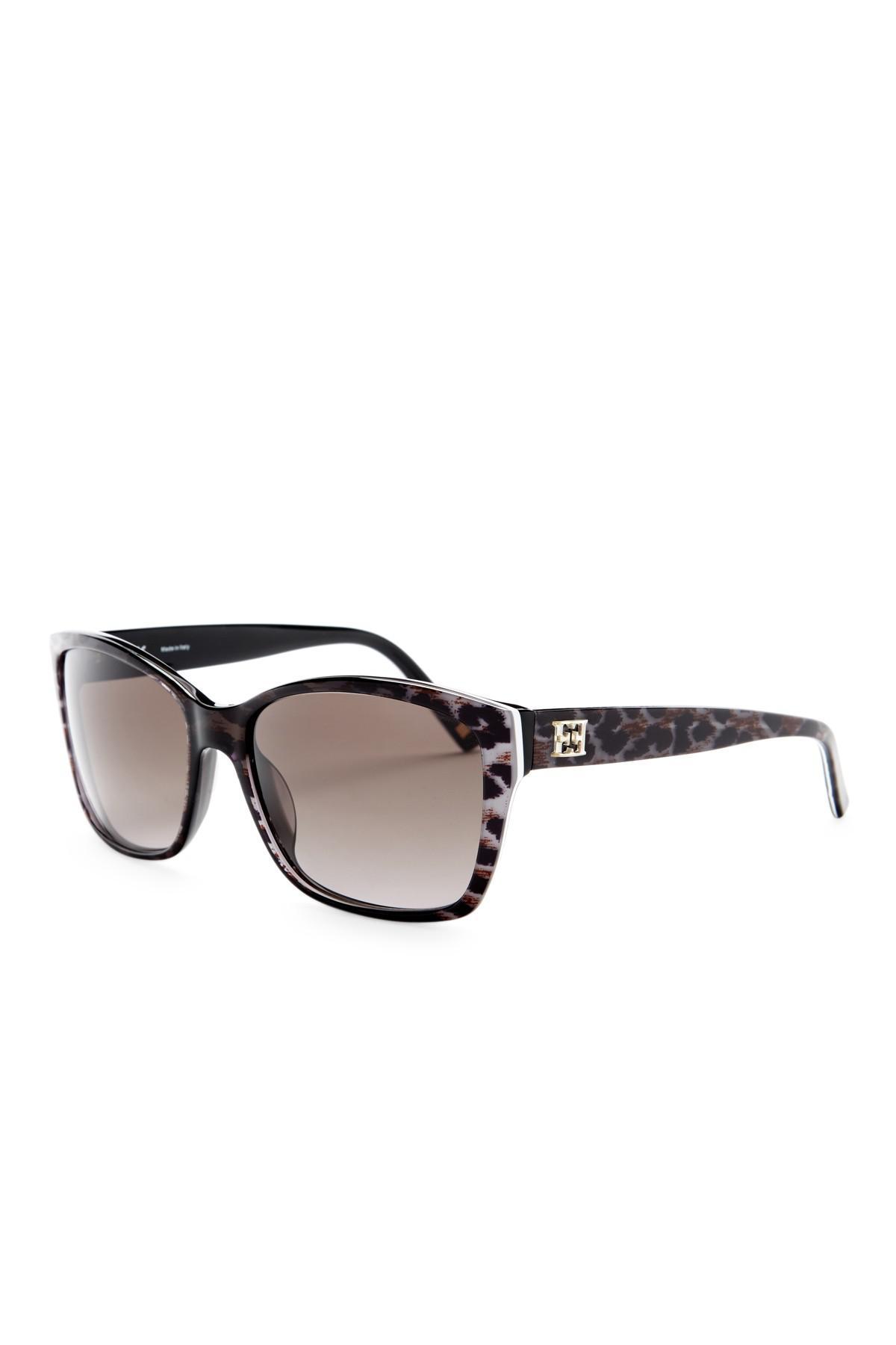 0a23704e8a Lyst - ESCADA Women s Oversized Sunglasses in Brown