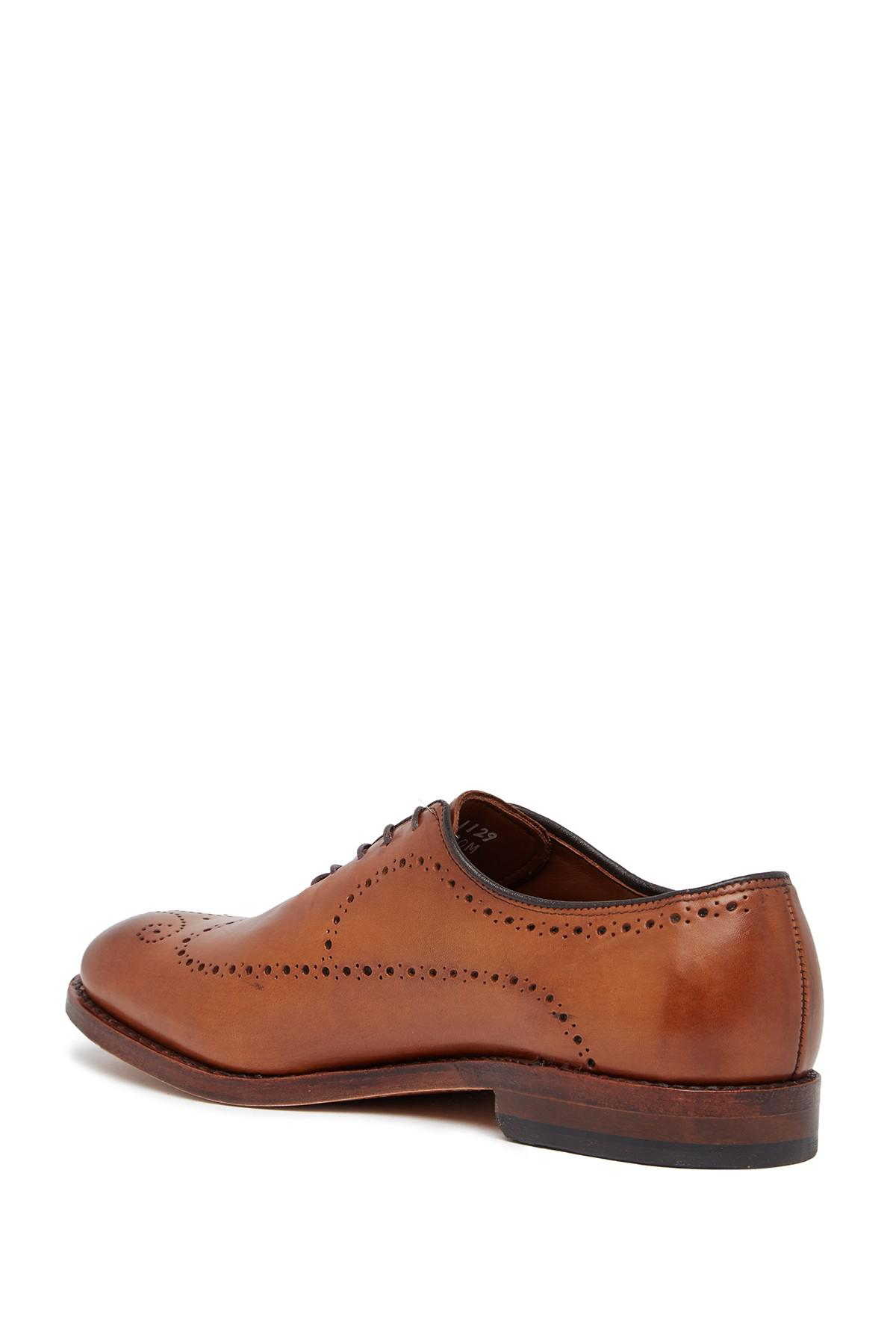 lyst allen edmonds fairfax leather oxford wide width available
