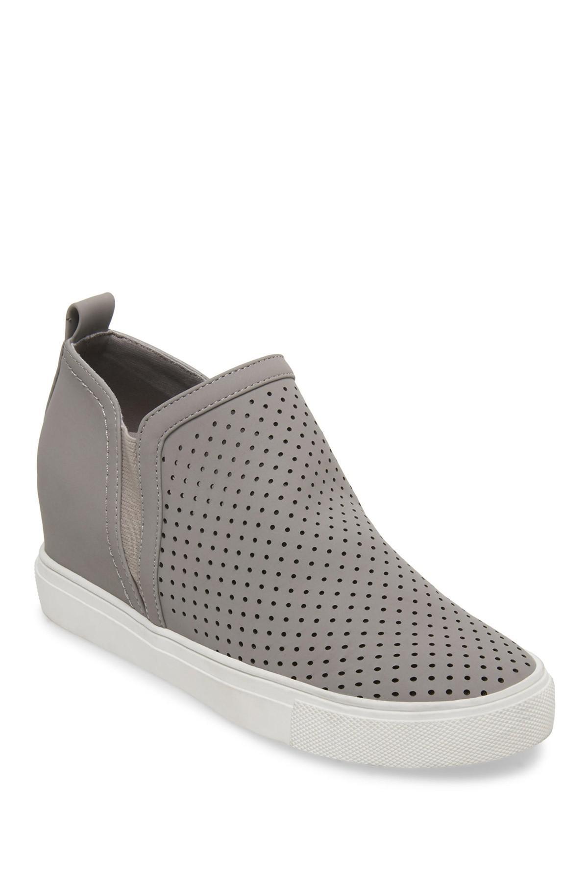 98355f2e7be Steven by Steve Madden - Gray Clarke Leather Slip-on Sneaker - Lyst. View  fullscreen