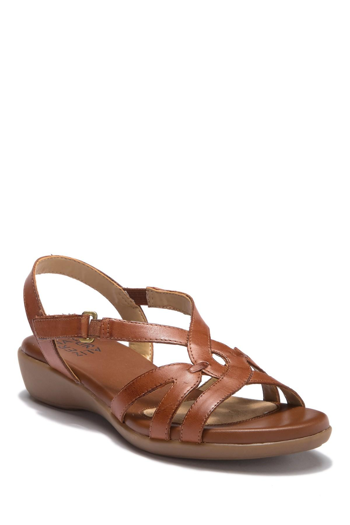 fb8a54ffce3 Lyst - Naturalizer Neo Sandal - Wide Width Available in Brown