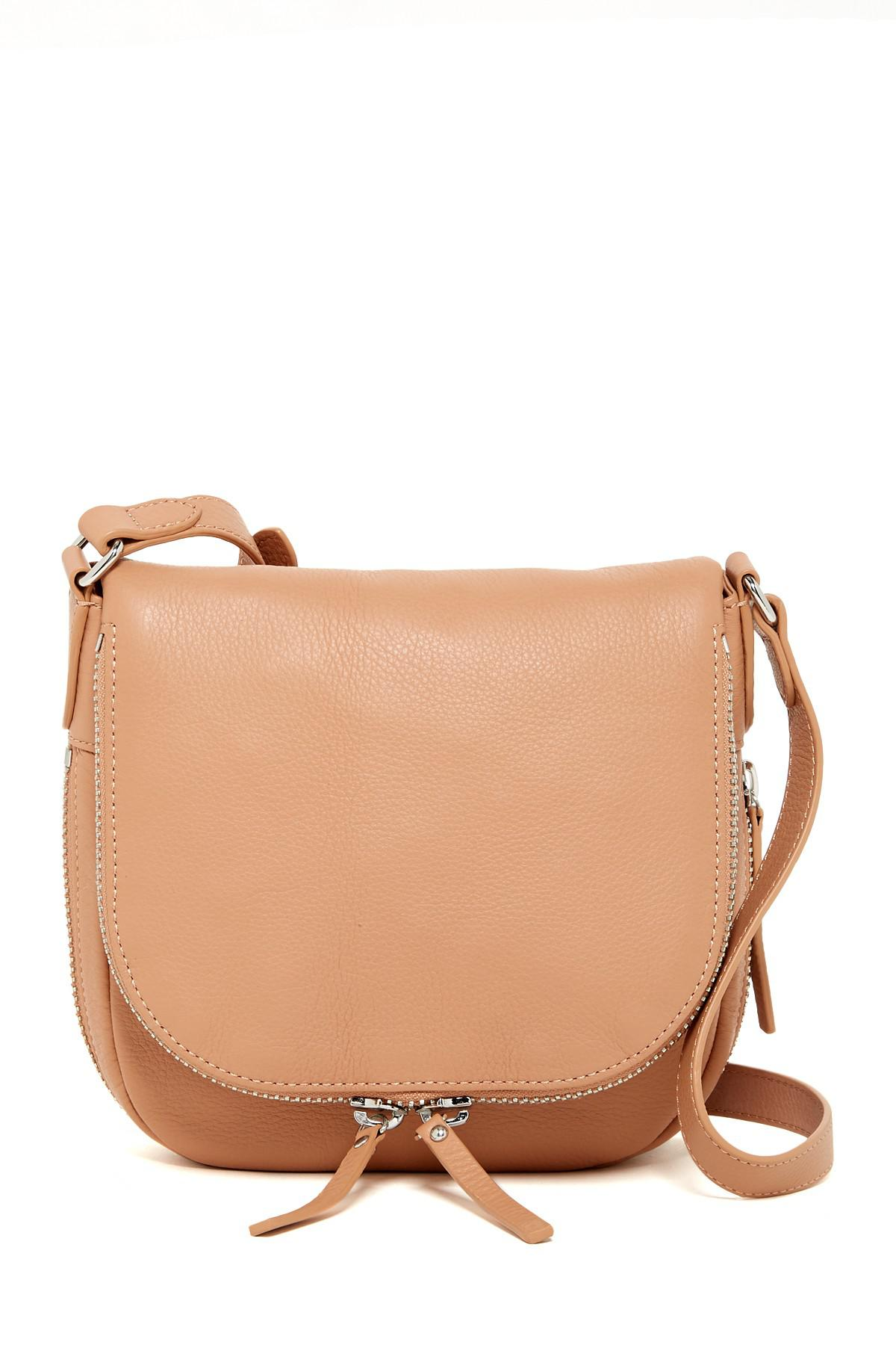 72766a7453 Lyst - Vince Camuto Baily Leather Crossbody