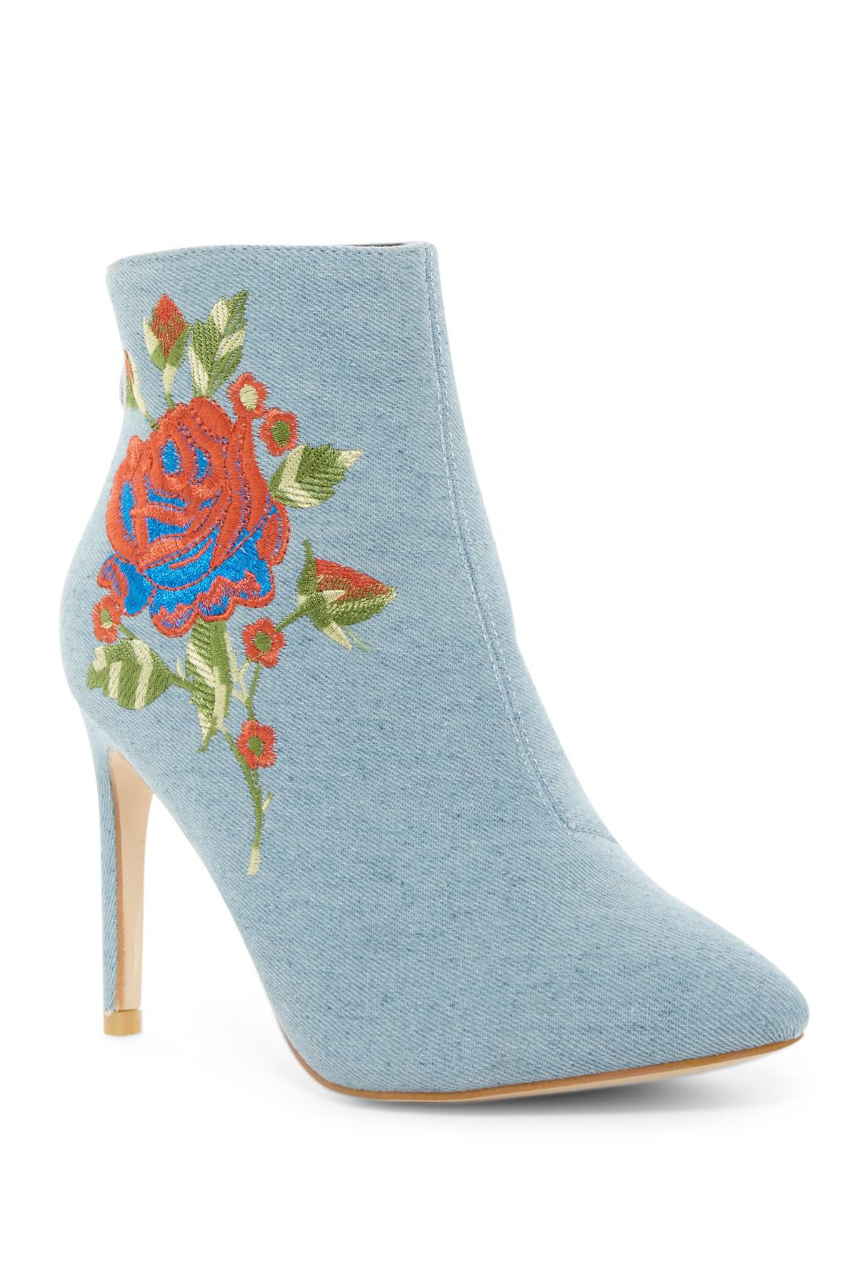 Cape Robbin Mini Embroidered Bootie udaunzY4