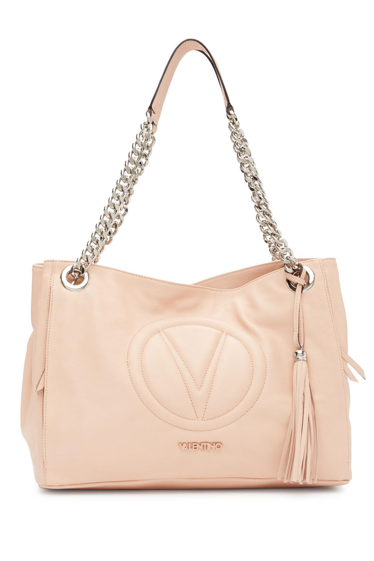 2ad84ad360d Lyst - Valentino By Mario Valentino Verra Leather Shoulder Bag