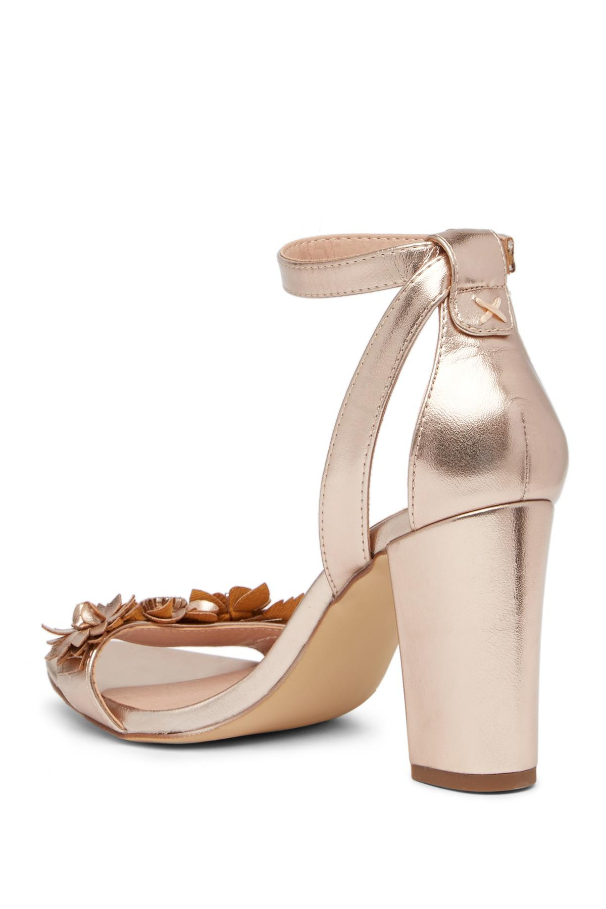 8038f37a68f1 Lyst - Madden Girl Betsyy Embellished Block Heel Sandal
