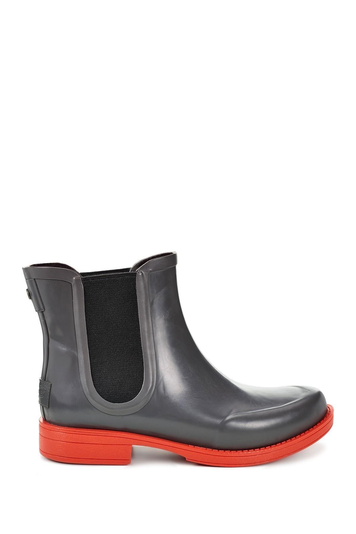65a1e8bb7ea Lyst - UGG (r) Aviana Chelsea Rain Boot (women)