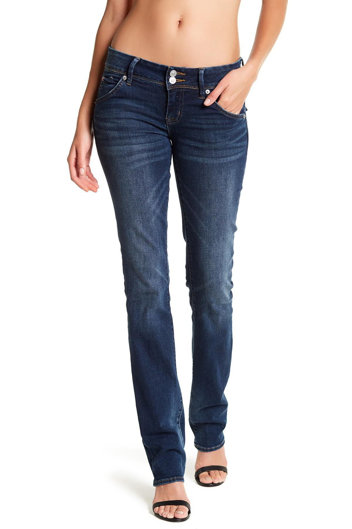 Lyst Hudson Beth Baby Boot Cut Jeans In Blue