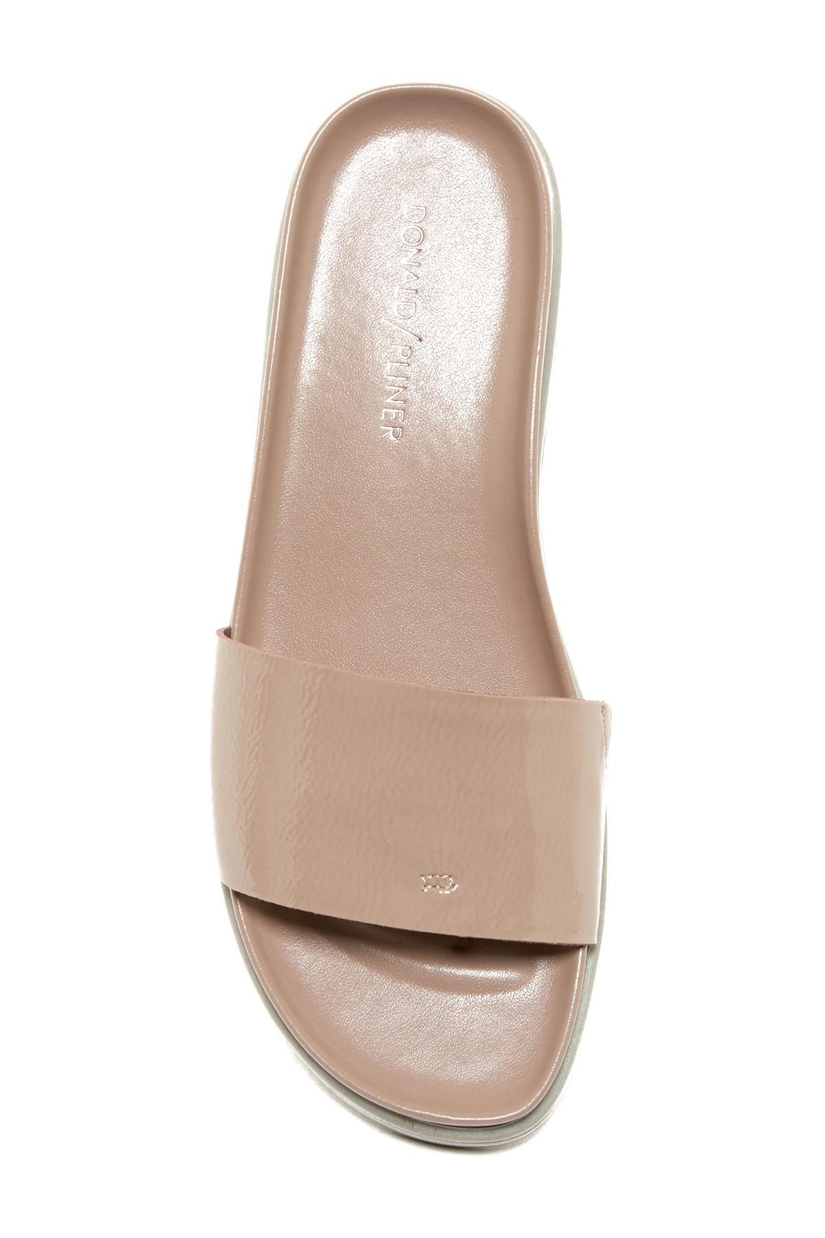 9eb88b2c94c Lyst - Donald J Pliner Fiji Platform Hidden Thong Sandal