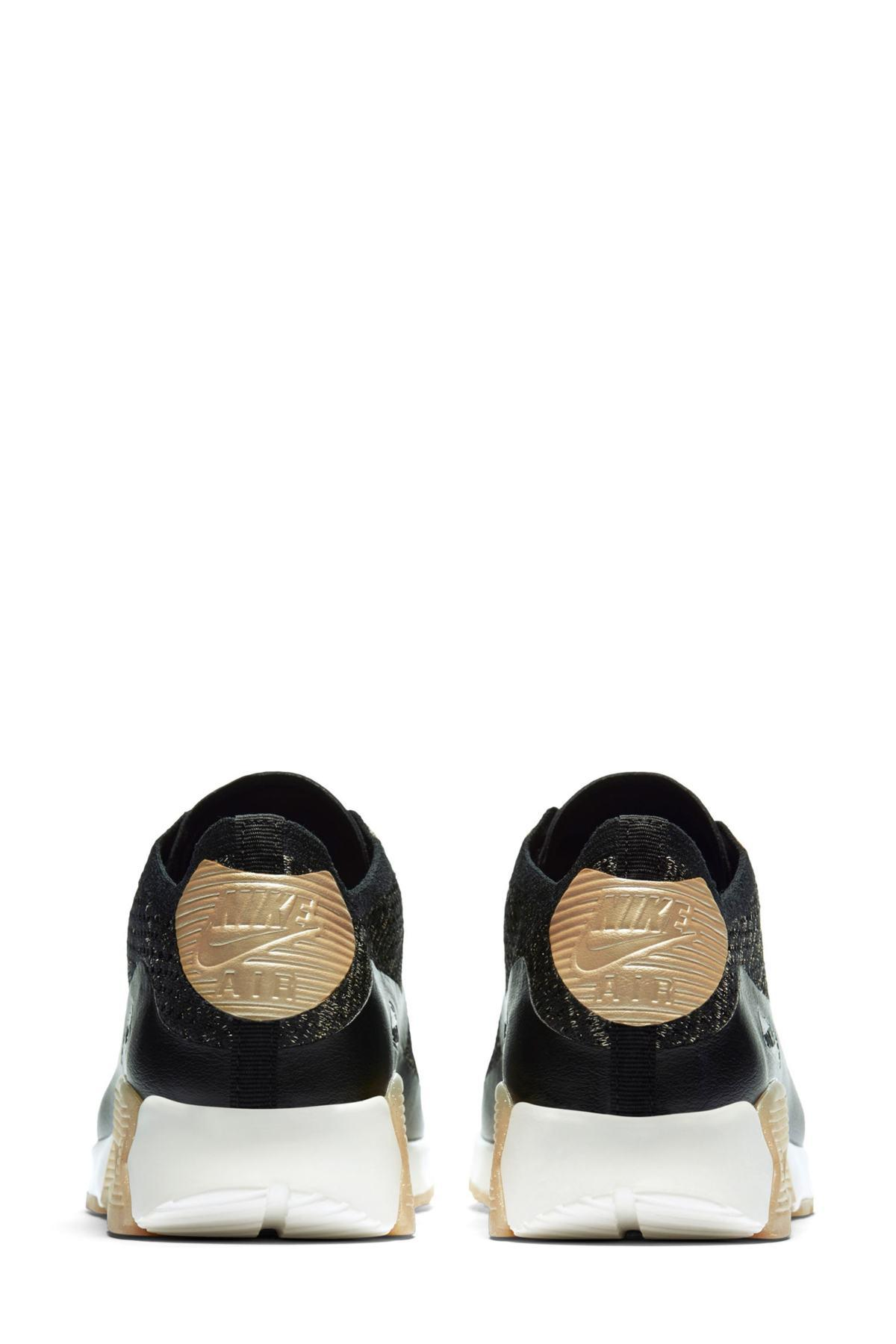 timeless design 3cd2c eb2e3 Lyst - Nike Air Max 90 Ultra 2.0 Flyknit Metallic Sneaker (women) in ...